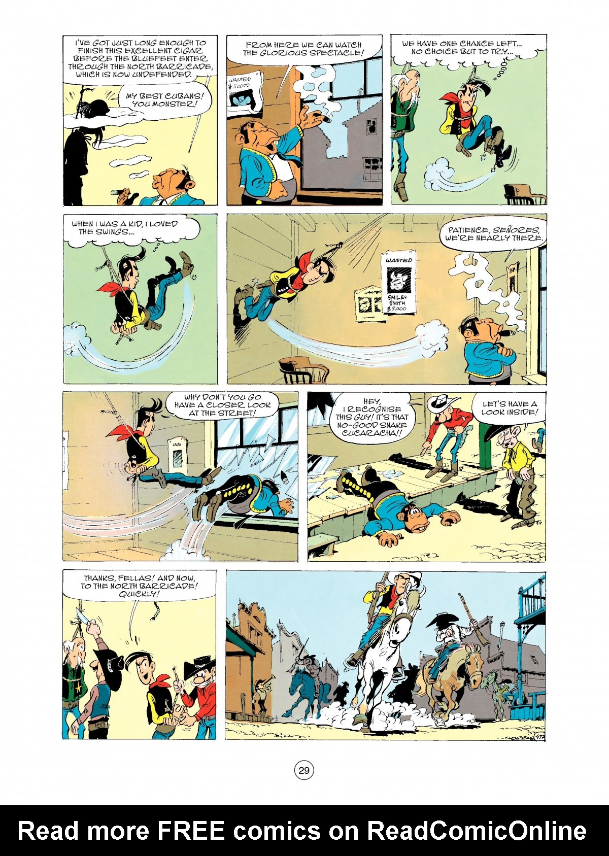 Read online A Lucky Luke Adventure comic -  Issue #43 - 29