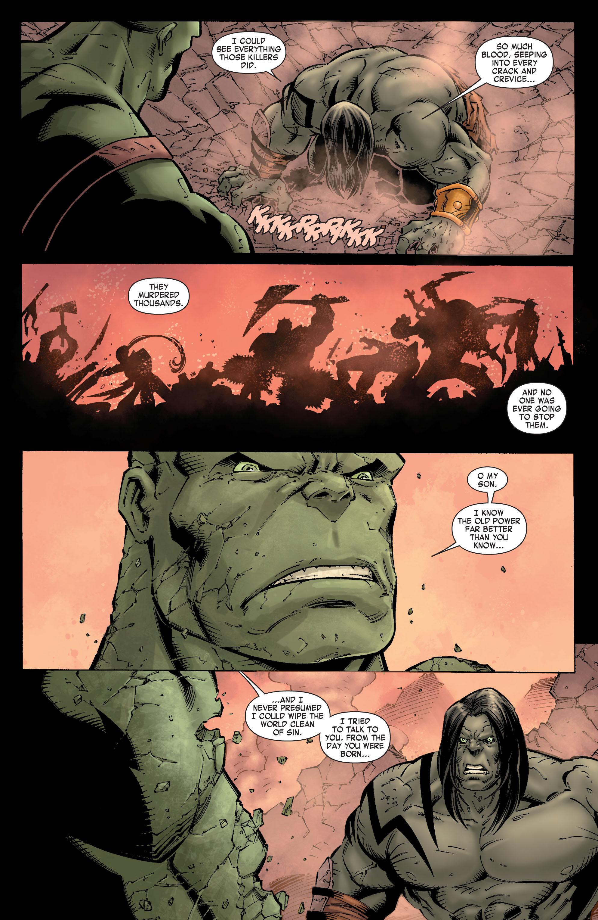 Read online Skaar: Son of Hulk comic -  Issue #9 - 20