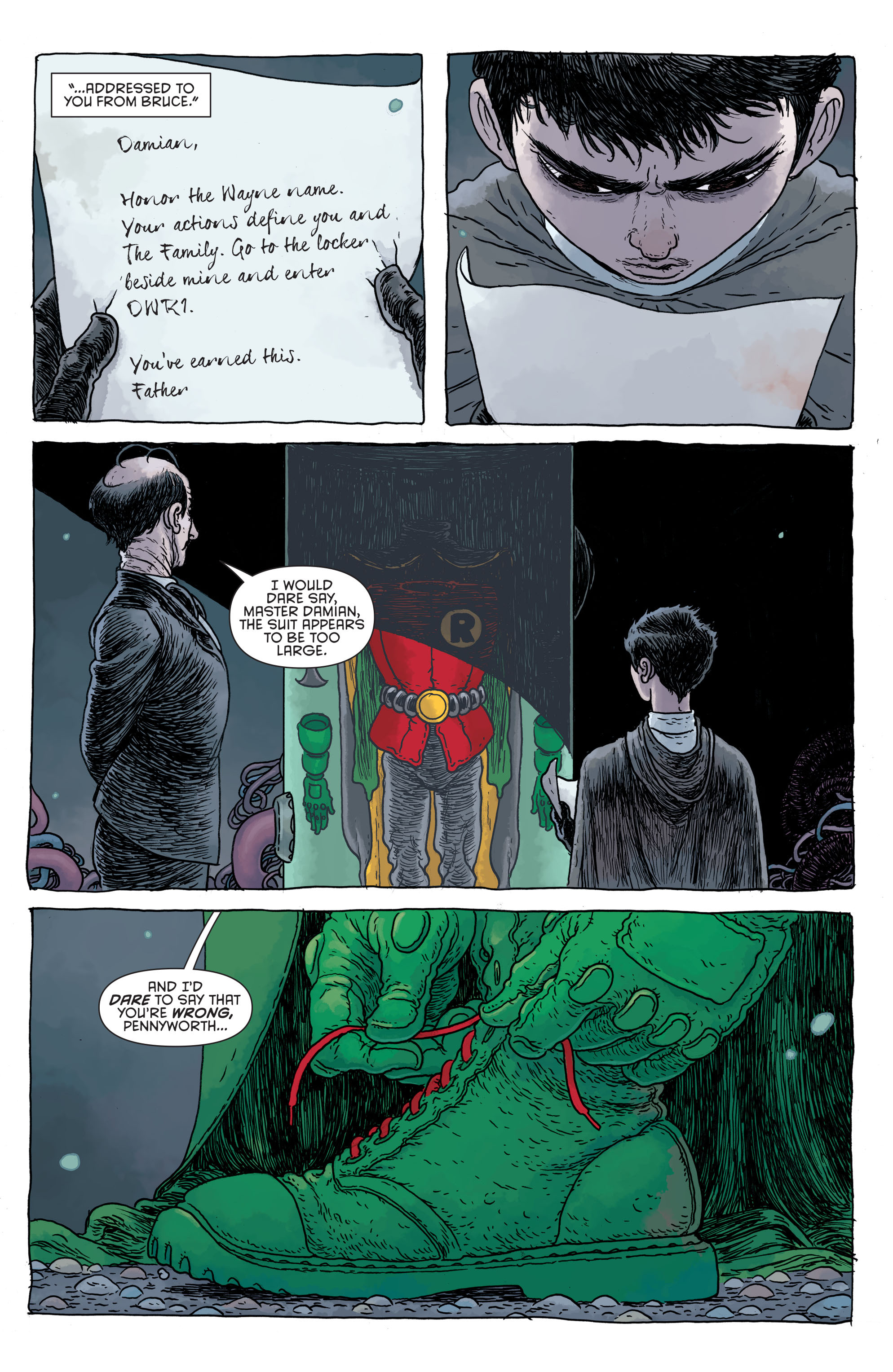 Read online Secret Origins (2014) comic -  Issue #4 - 35