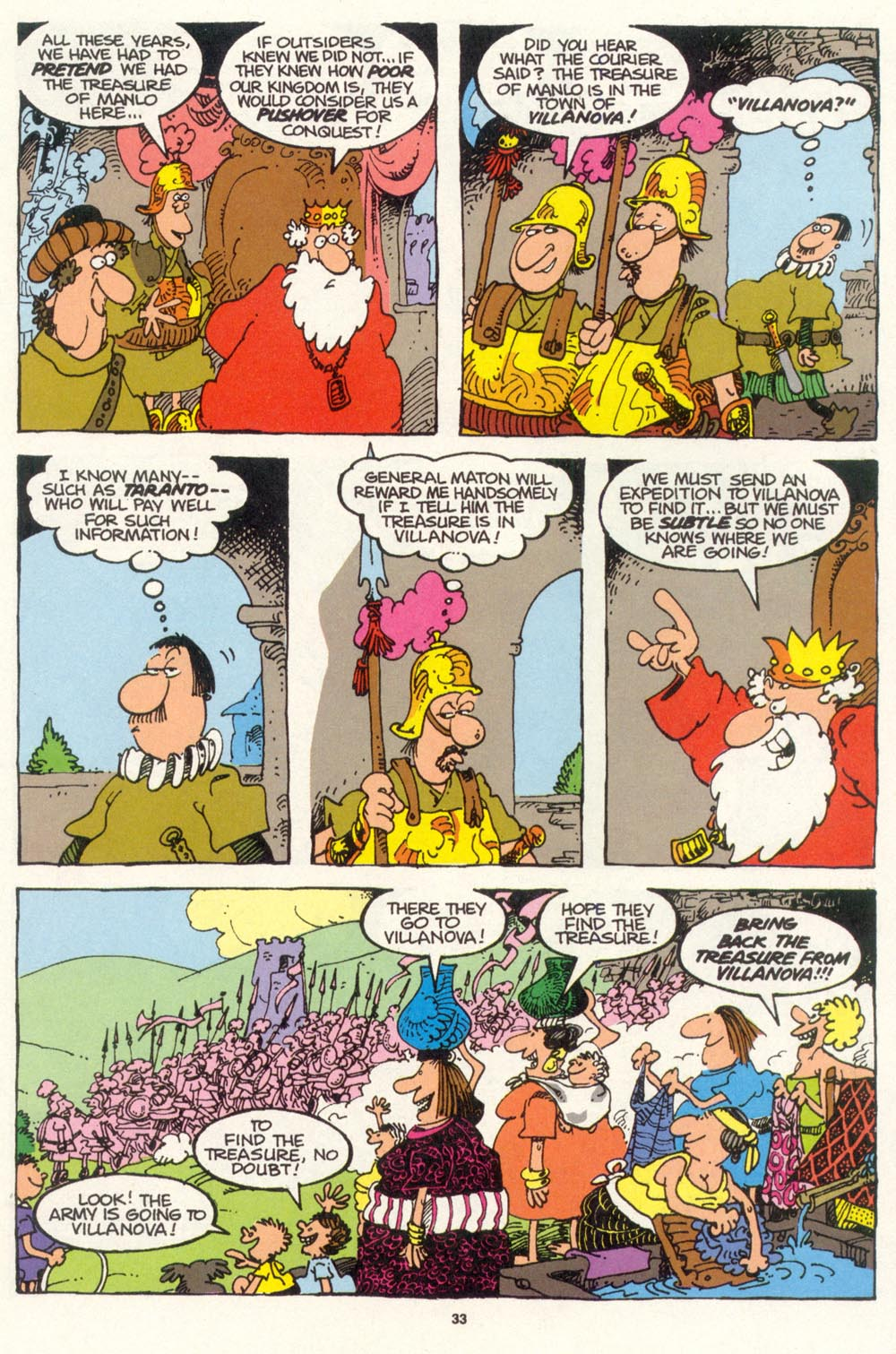 Read online Sergio Aragonés Groo the Wanderer comic -  Issue #100 - 34