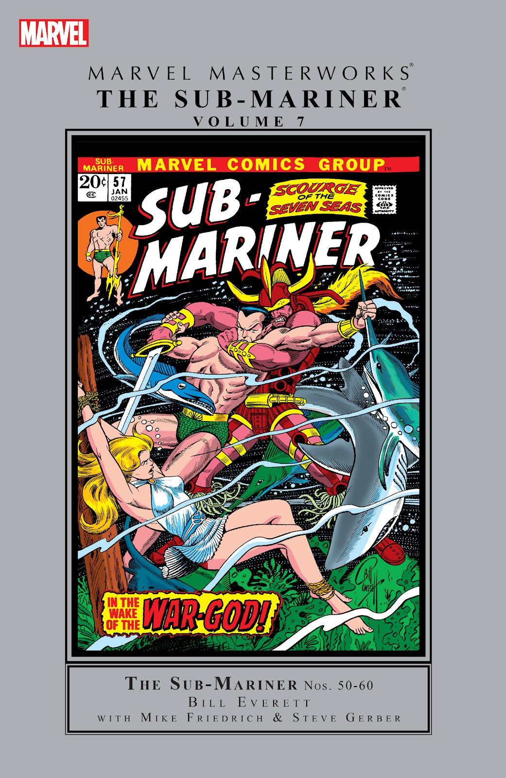 Marvel Masterworks: The Sub-Mariner TPB_7_(Part_1) Page 1