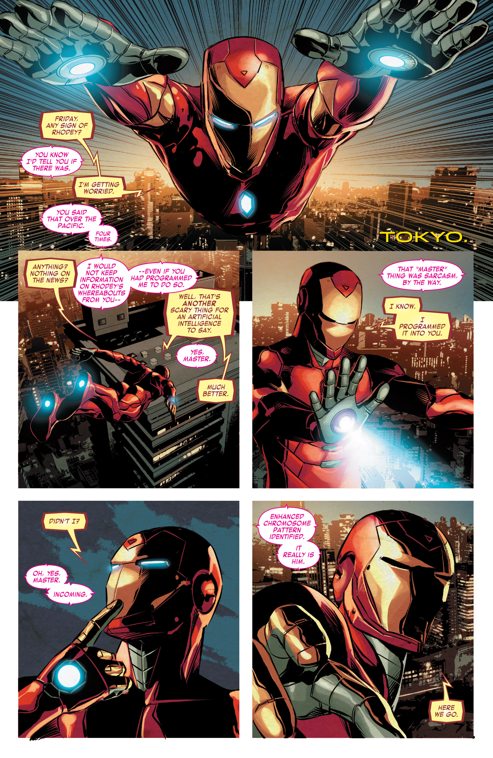 Read online True Believers: Invincible Iron Man-The War Machines comic -  Issue # Full - 48
