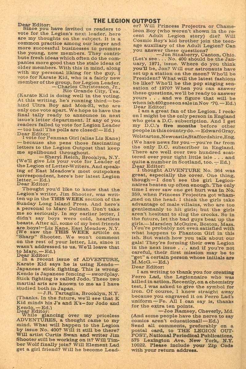 Read online Adventure Comics (1938) comic -  Issue #367 - 25