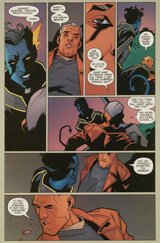 Read online Nightcrawler (2002) comic -  Issue #4 - 21