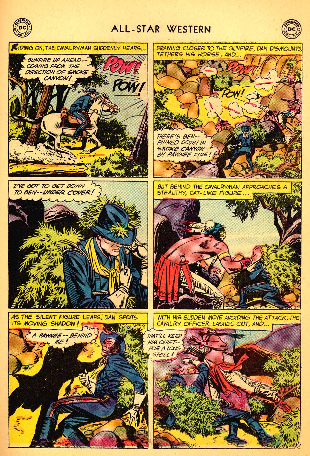 Read online All-Star Western (1951) comic -  Issue #99 - 23