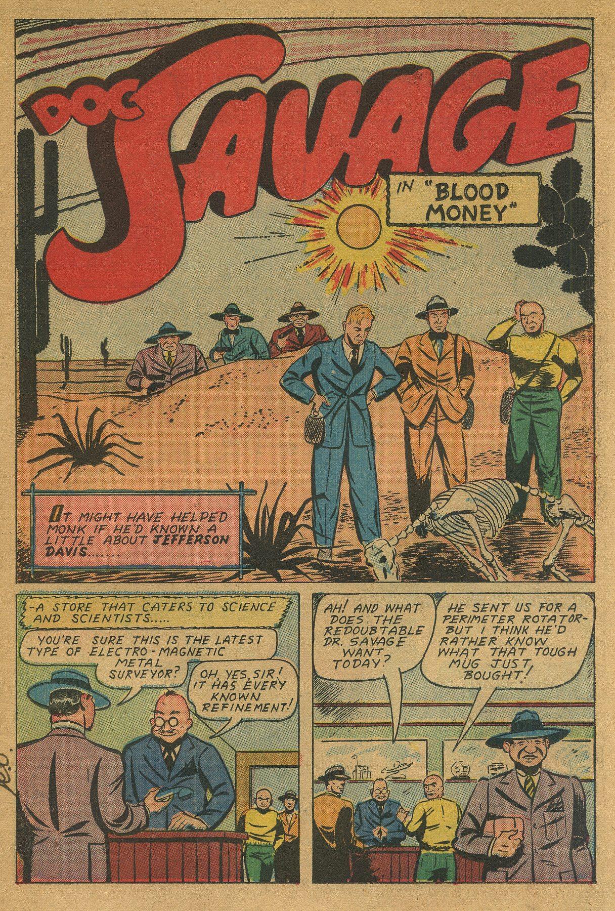Read online Shadow Comics comic -  Issue #49 - 17
