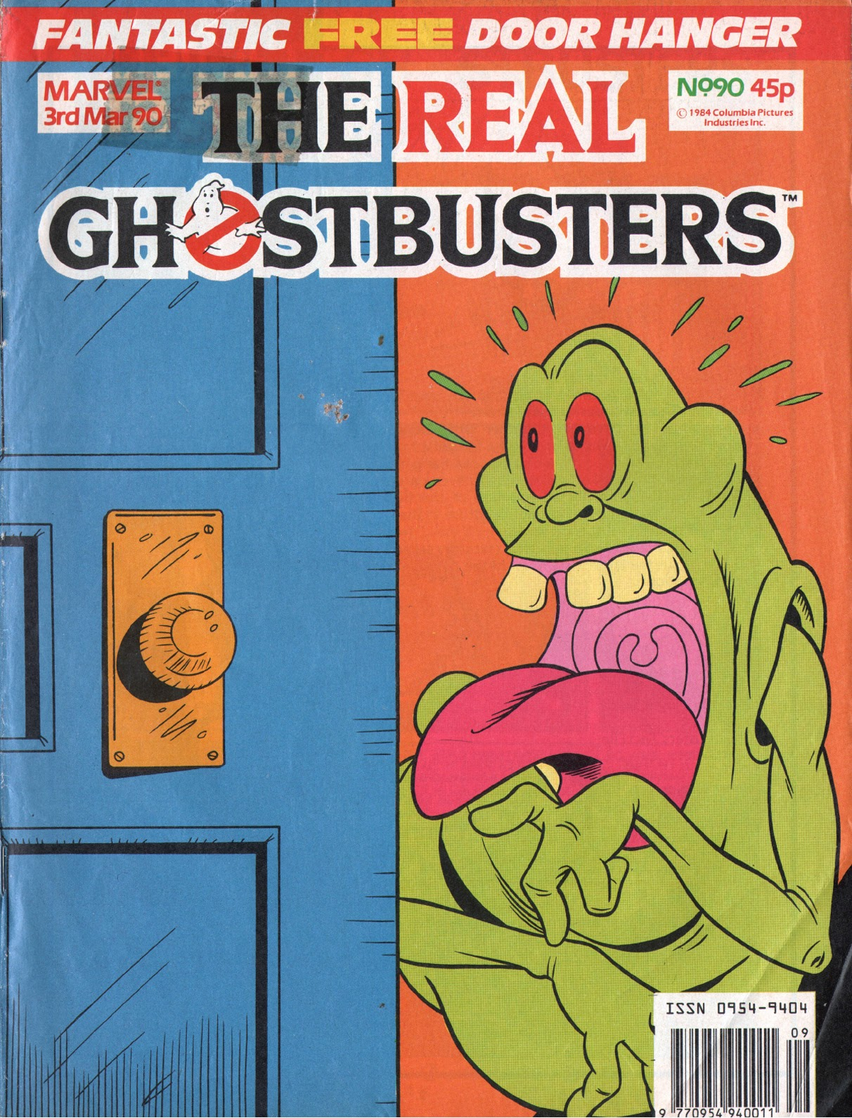 The Real Ghostbusters 90 Page 1
