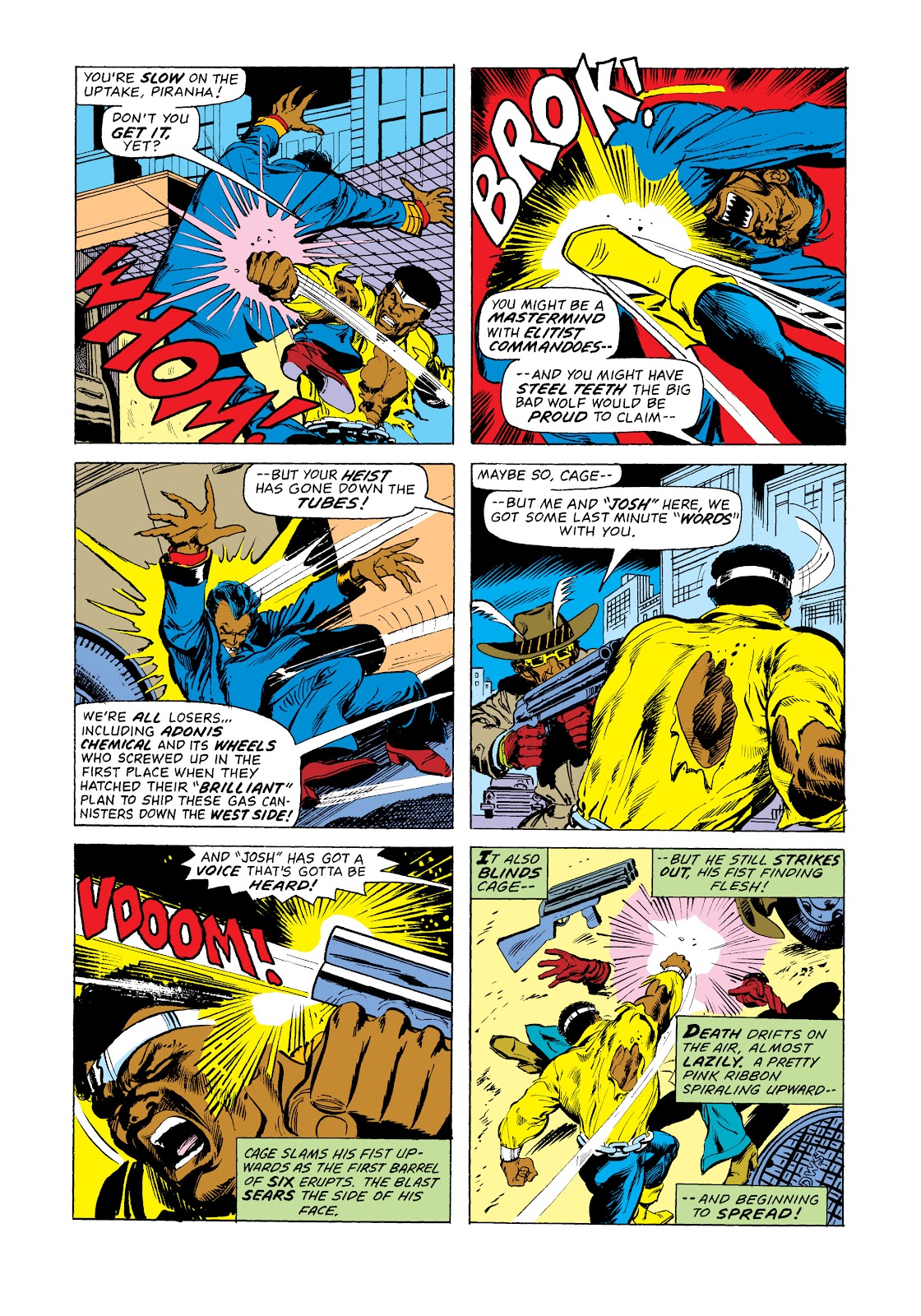 Read online Marvel Masterworks: Luke Cage, Power Man comic -  Issue # TPB 2 (Part 3) - 79