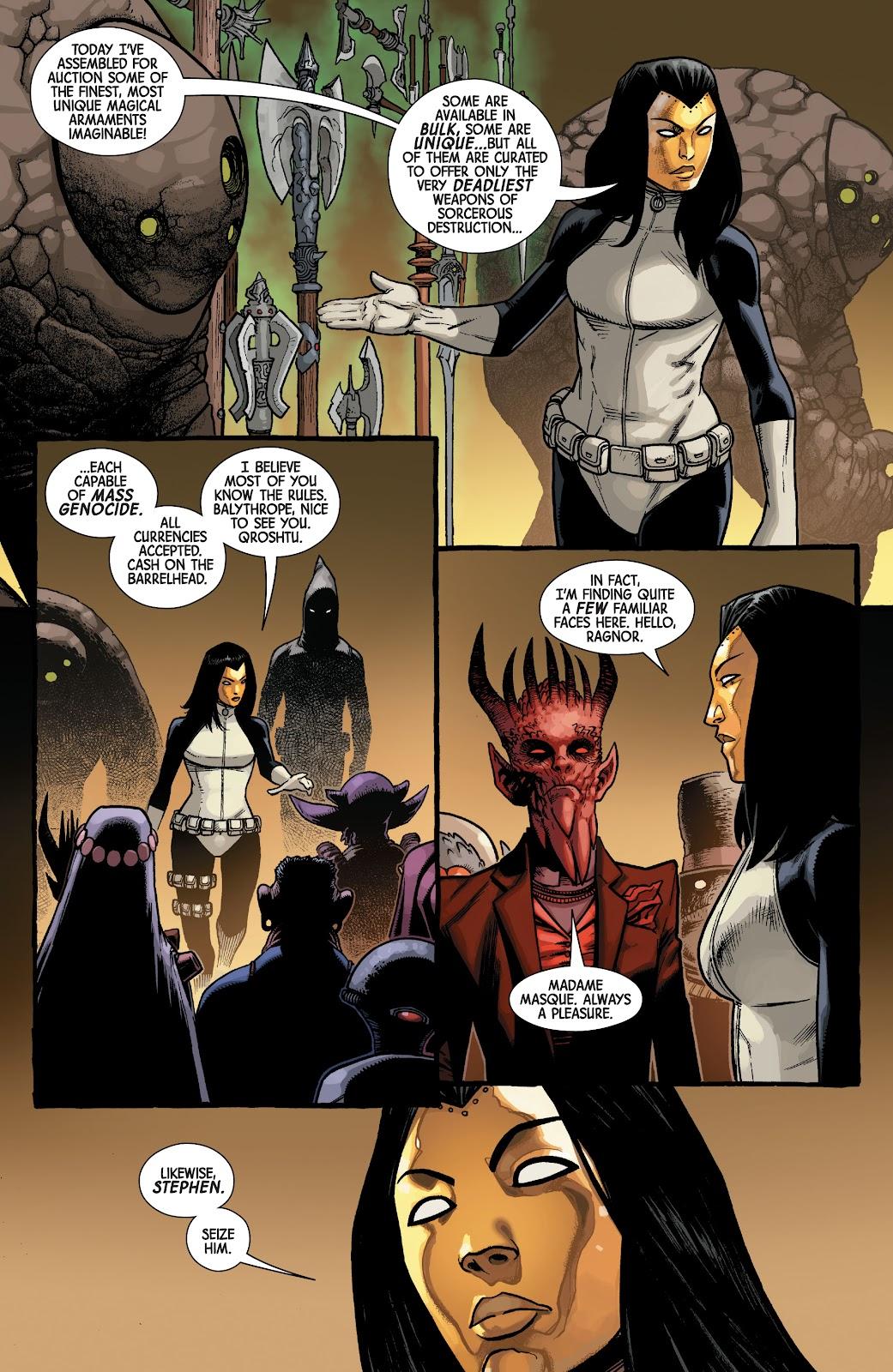 Read online Dr. Strange comic -  Issue #5 - 19