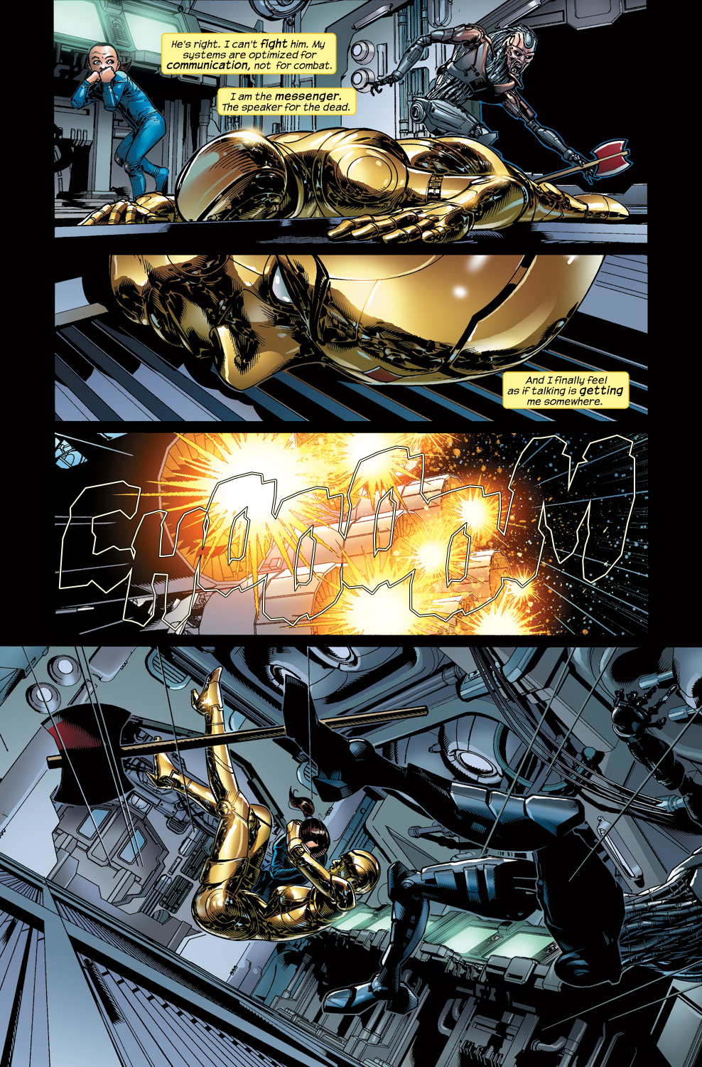 Read online Ultimate Vision comic -  Issue #3 - 18