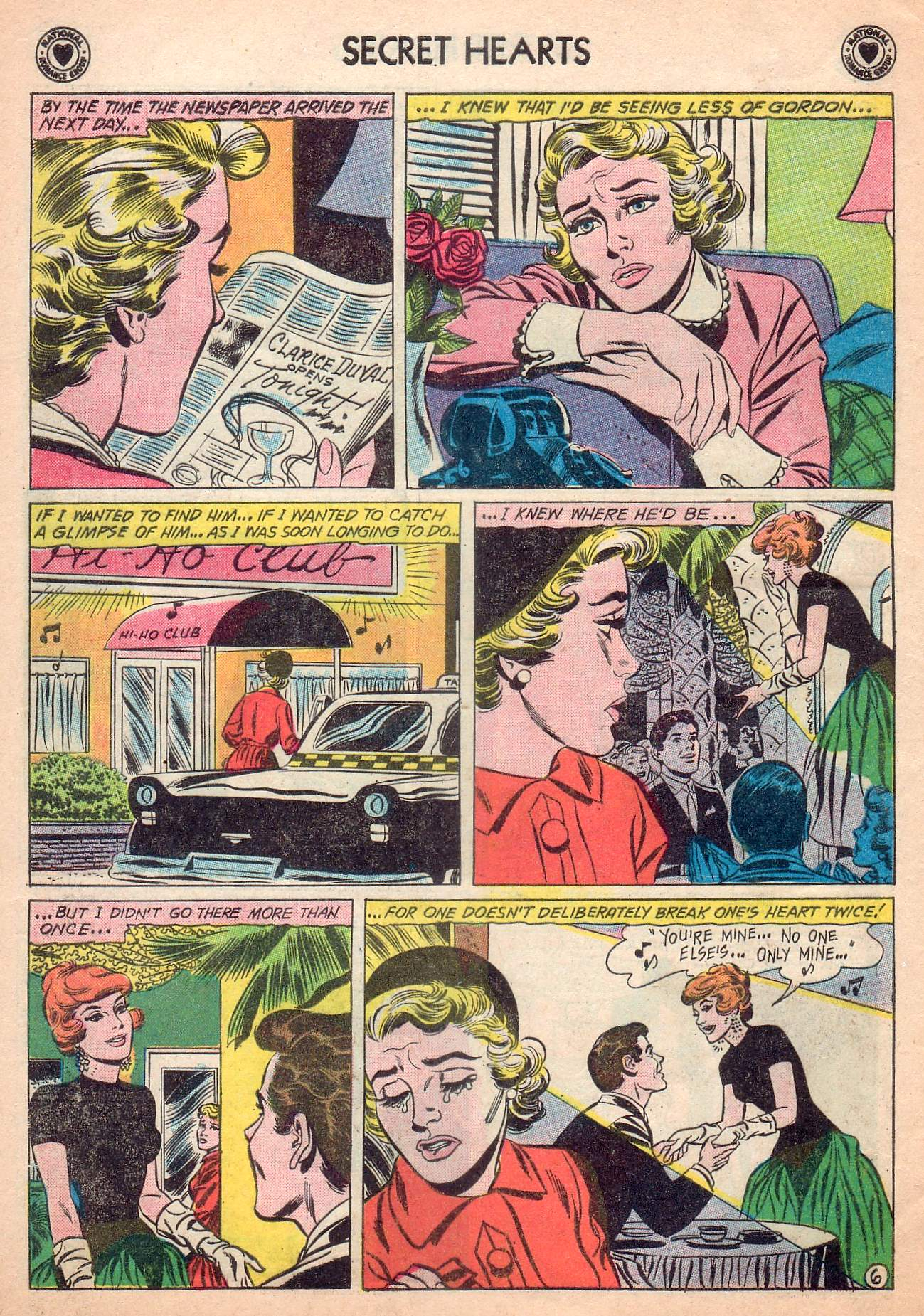Read online Secret Hearts comic -  Issue #63 - 8
