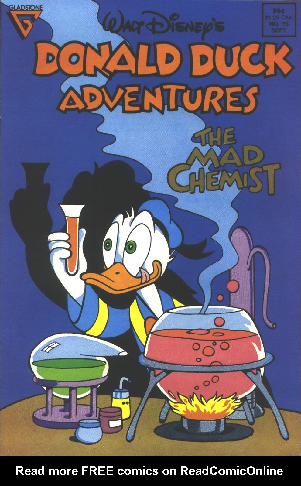Walt Disney's Donald Duck Adventures (1987) issue 15 - Page 1