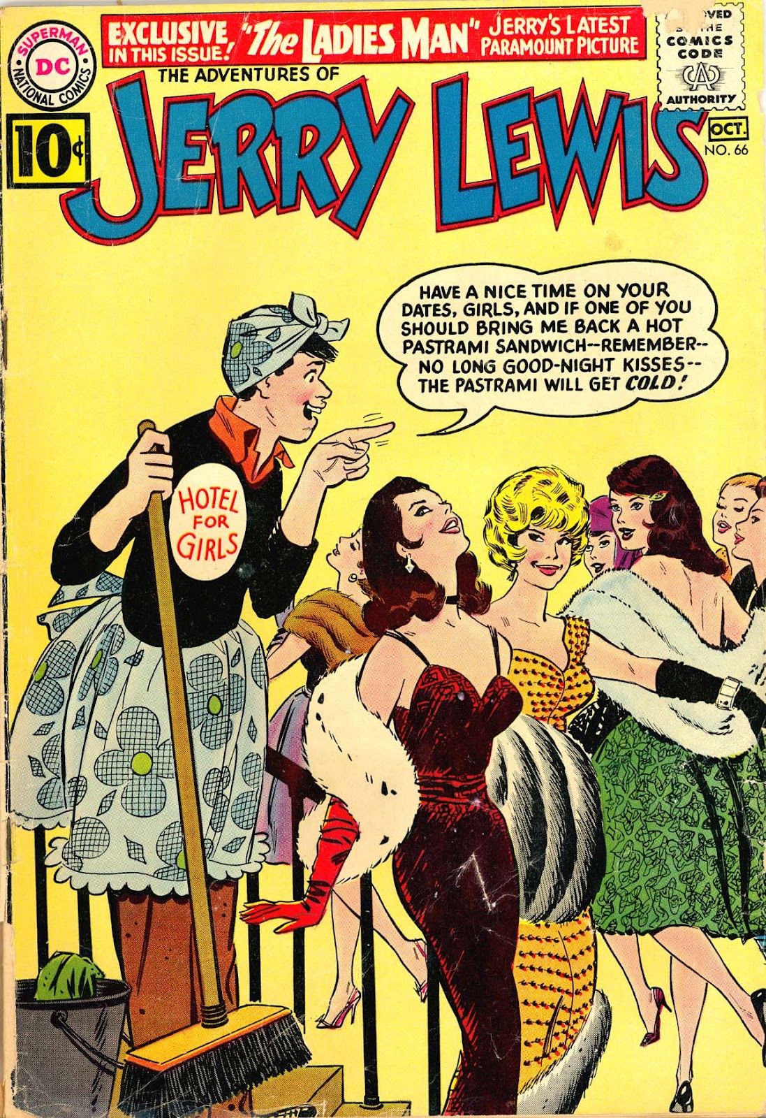 The Adventures of Jerry Lewis 66 Page 1