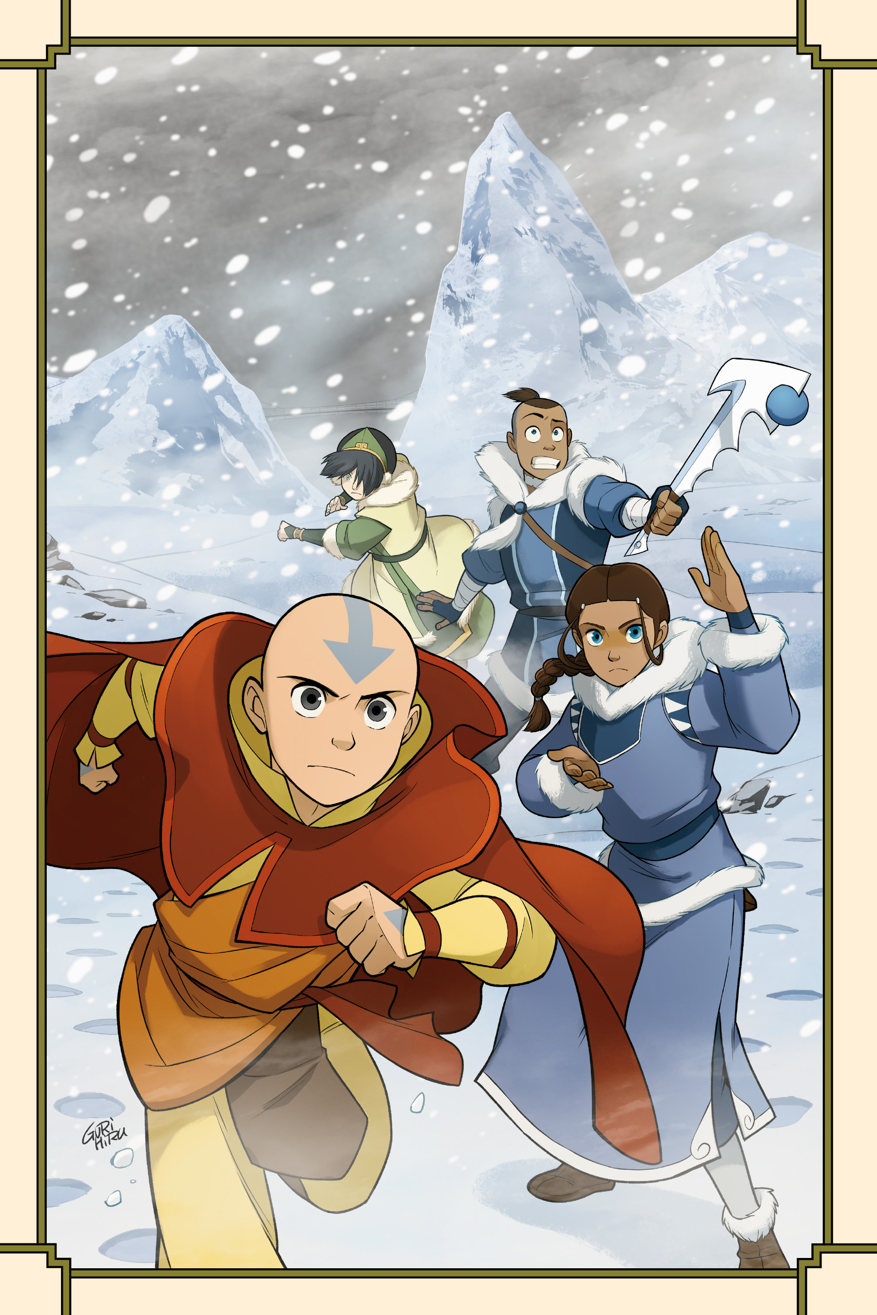 Read online Nickelodeon Avatar: The Last Airbender - North and South comic -  Issue #3 - 3