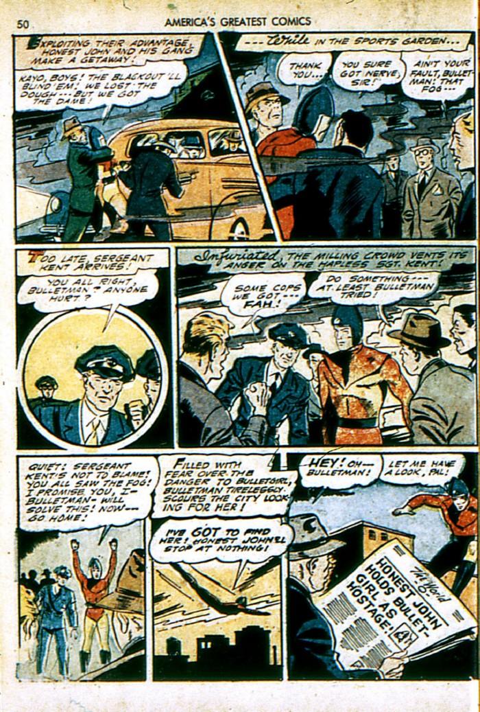 Read online America's Greatest Comics comic -  Issue #4 - 50