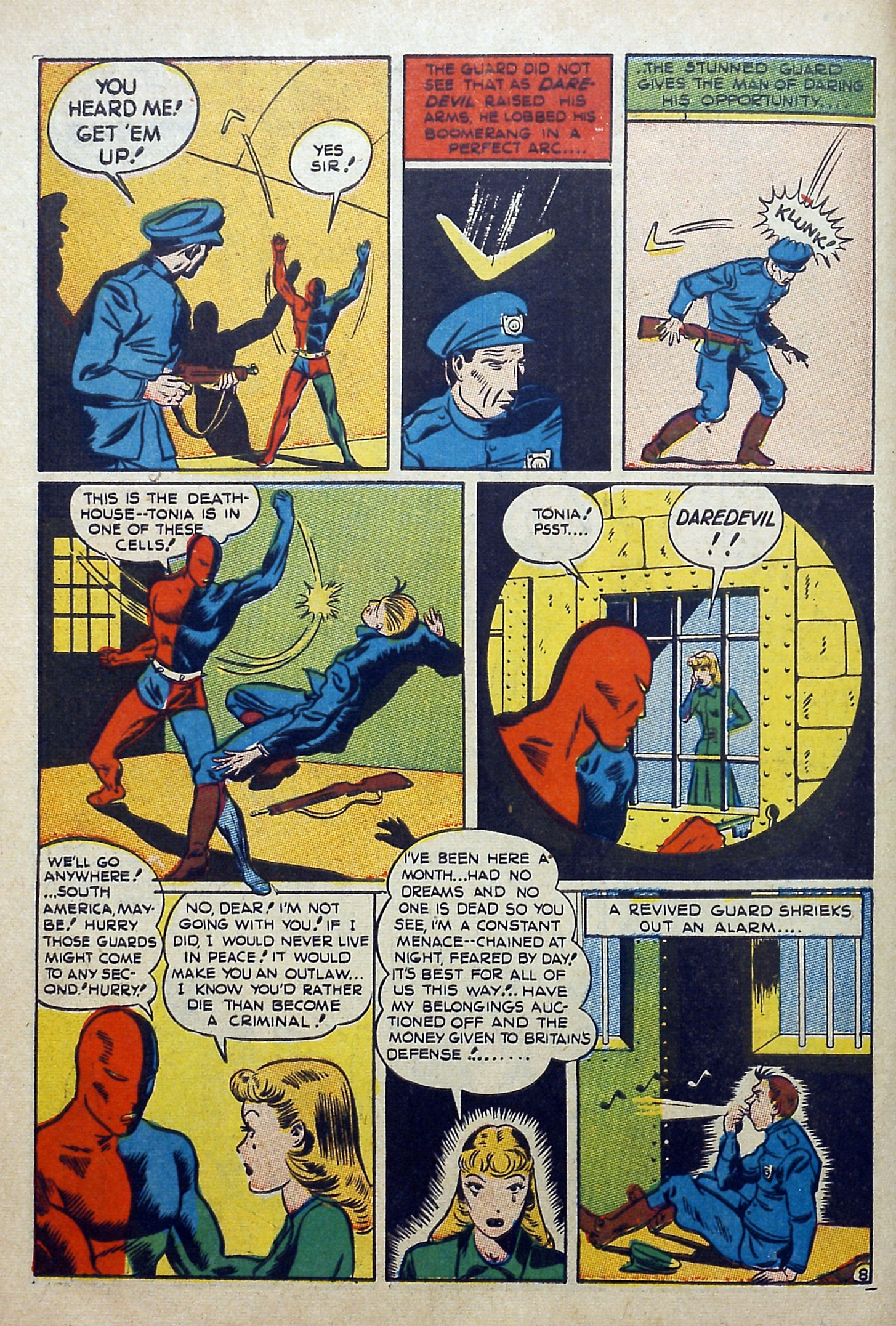 Daredevil (1941) issue 3 - Page 10