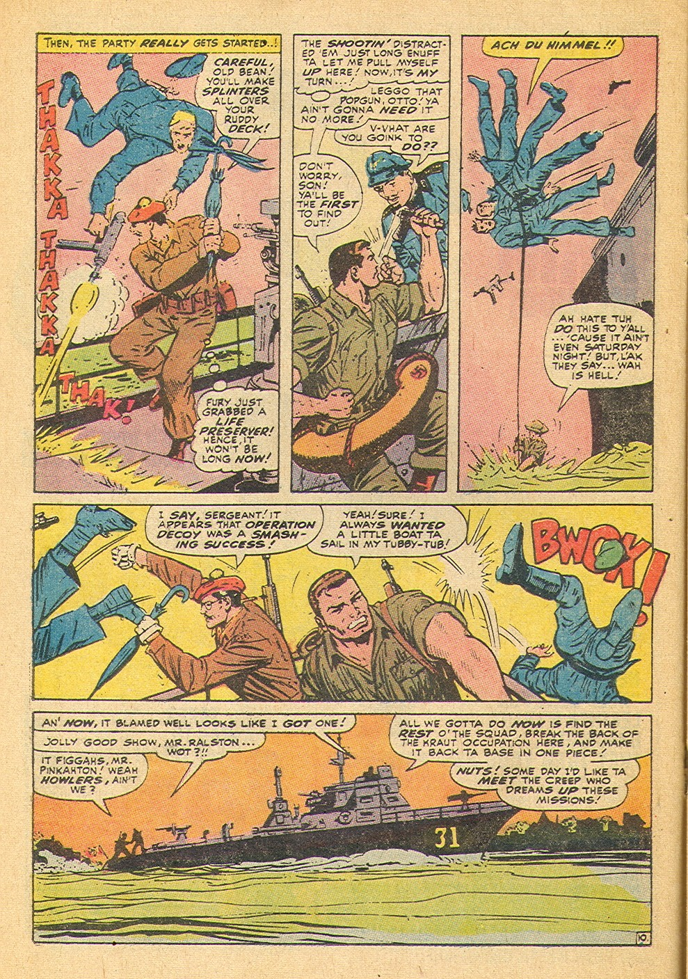 Read online Sgt. Fury comic -  Issue #91 - 16