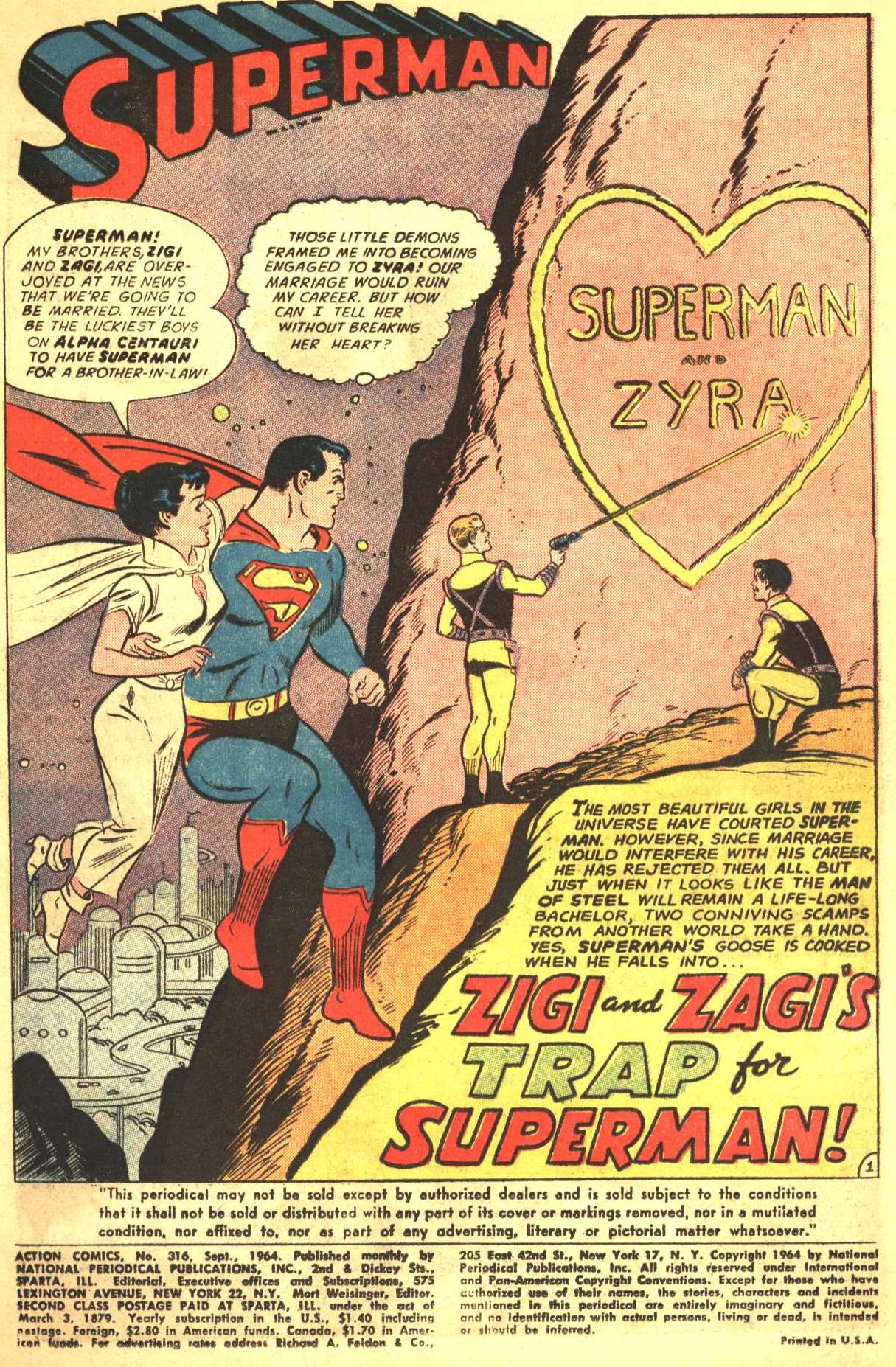 Read online Action Comics (1938) comic -  Issue #316 - 2
