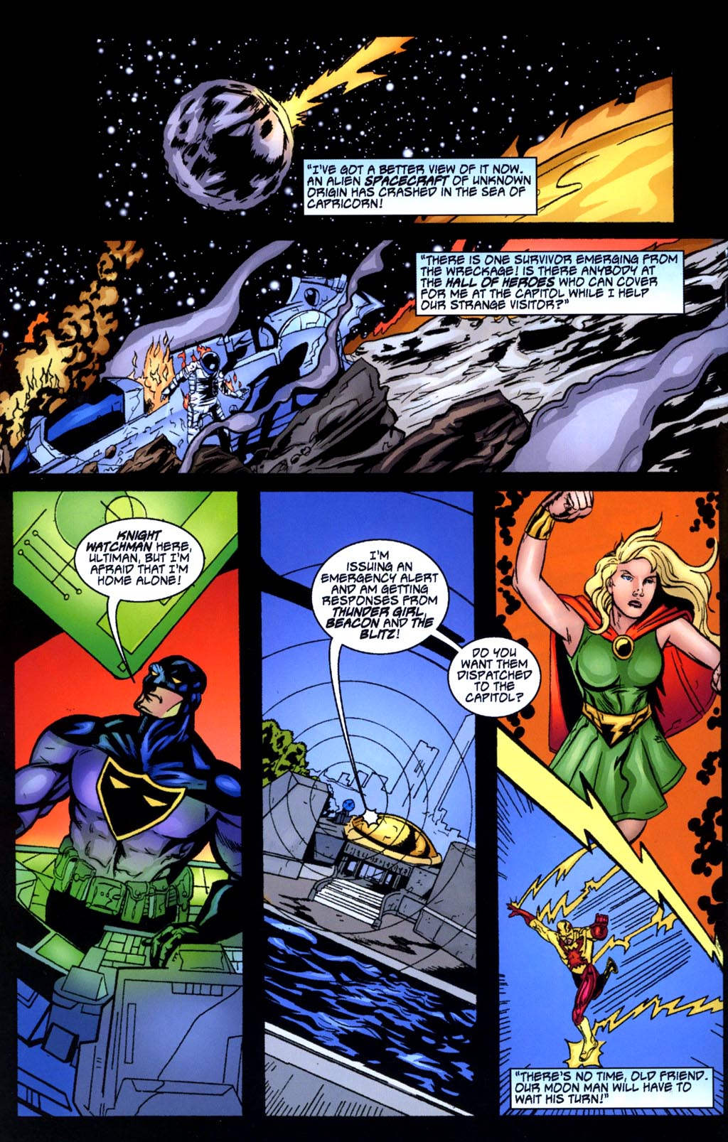 Read online Big Bang: Round Table of America comic -  Issue # Full - 4