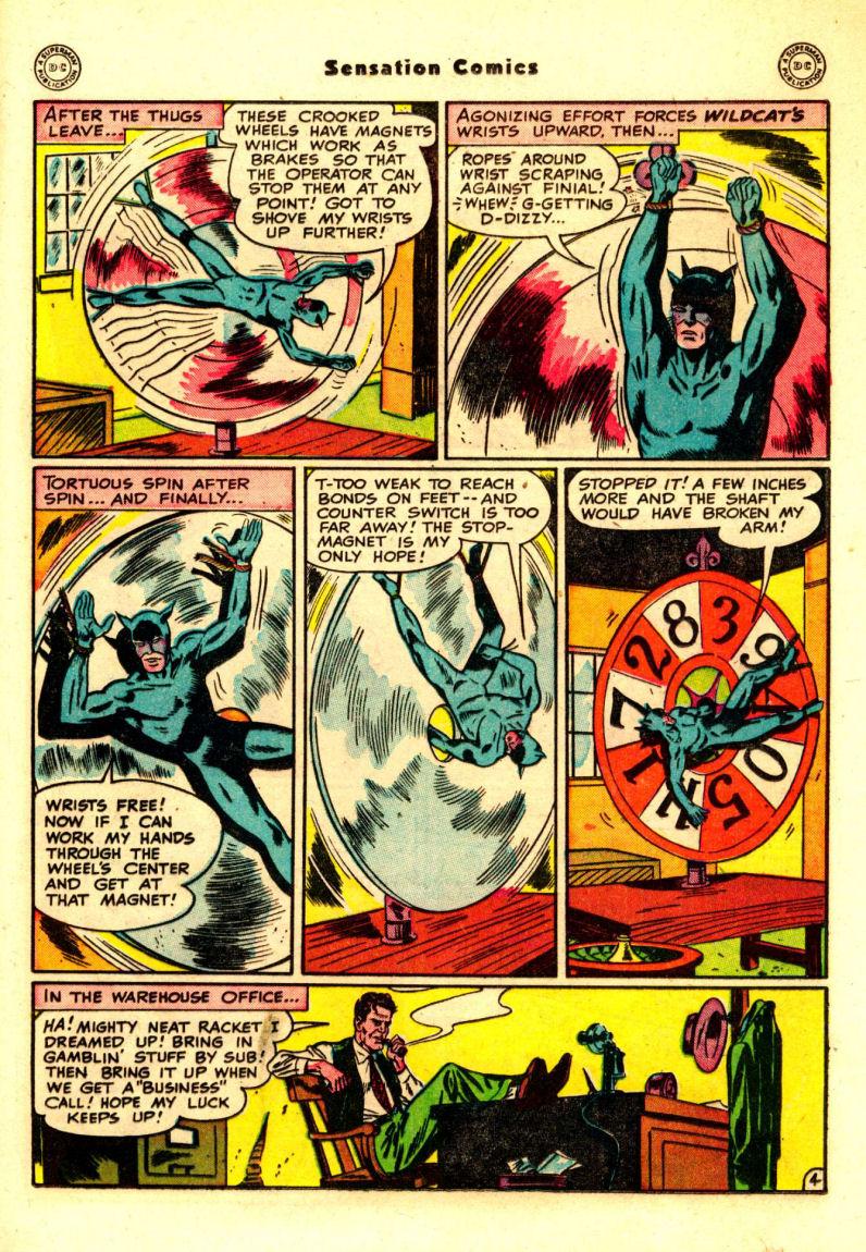 Read online Sensation (Mystery) Comics comic -  Issue #88 - 18