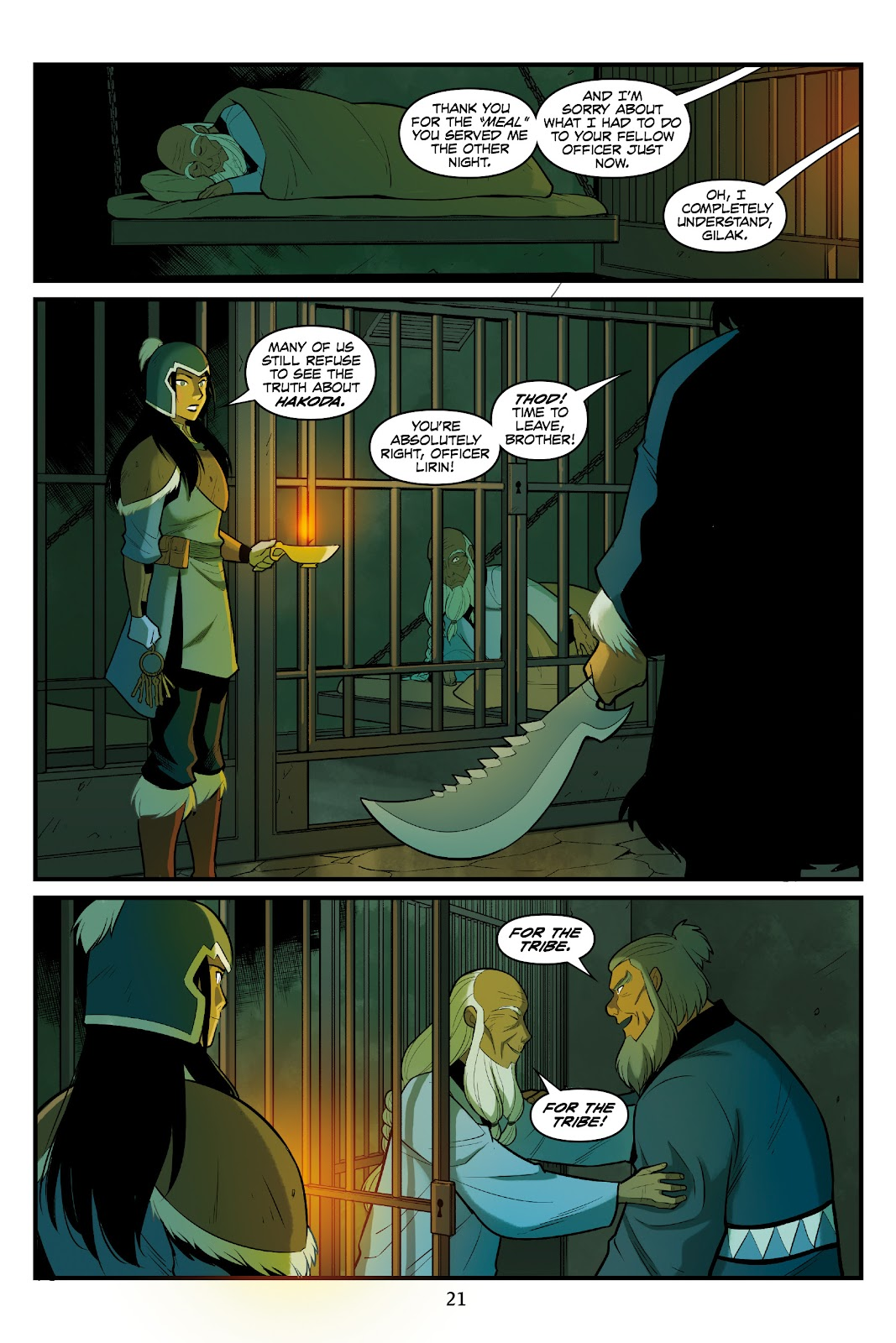 Nickelodeon Avatar: The Last Airbender - North and South issue 3 - Page 22