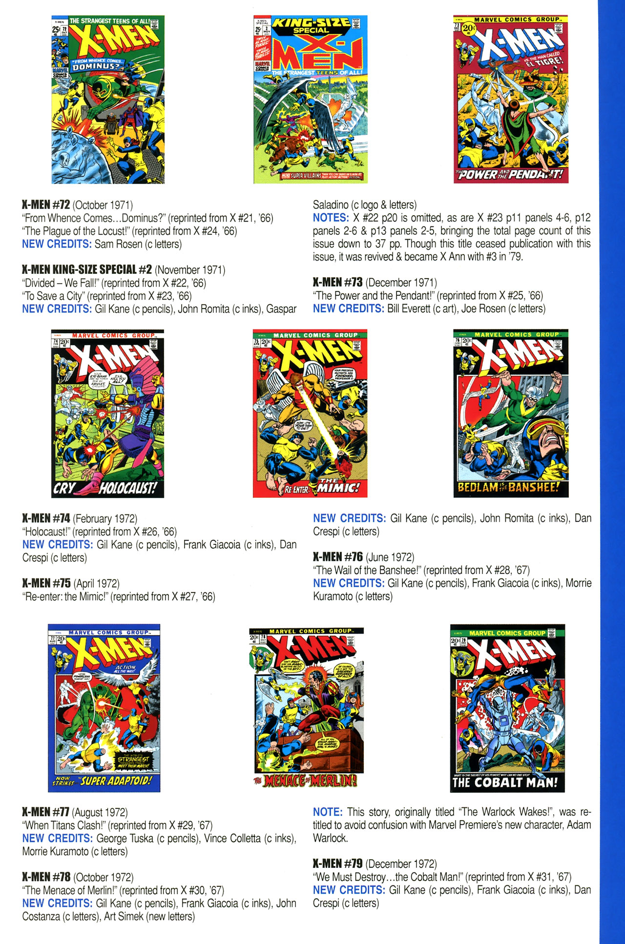Read online Official Index to the Marvel Universe comic -  Issue #2 - 55