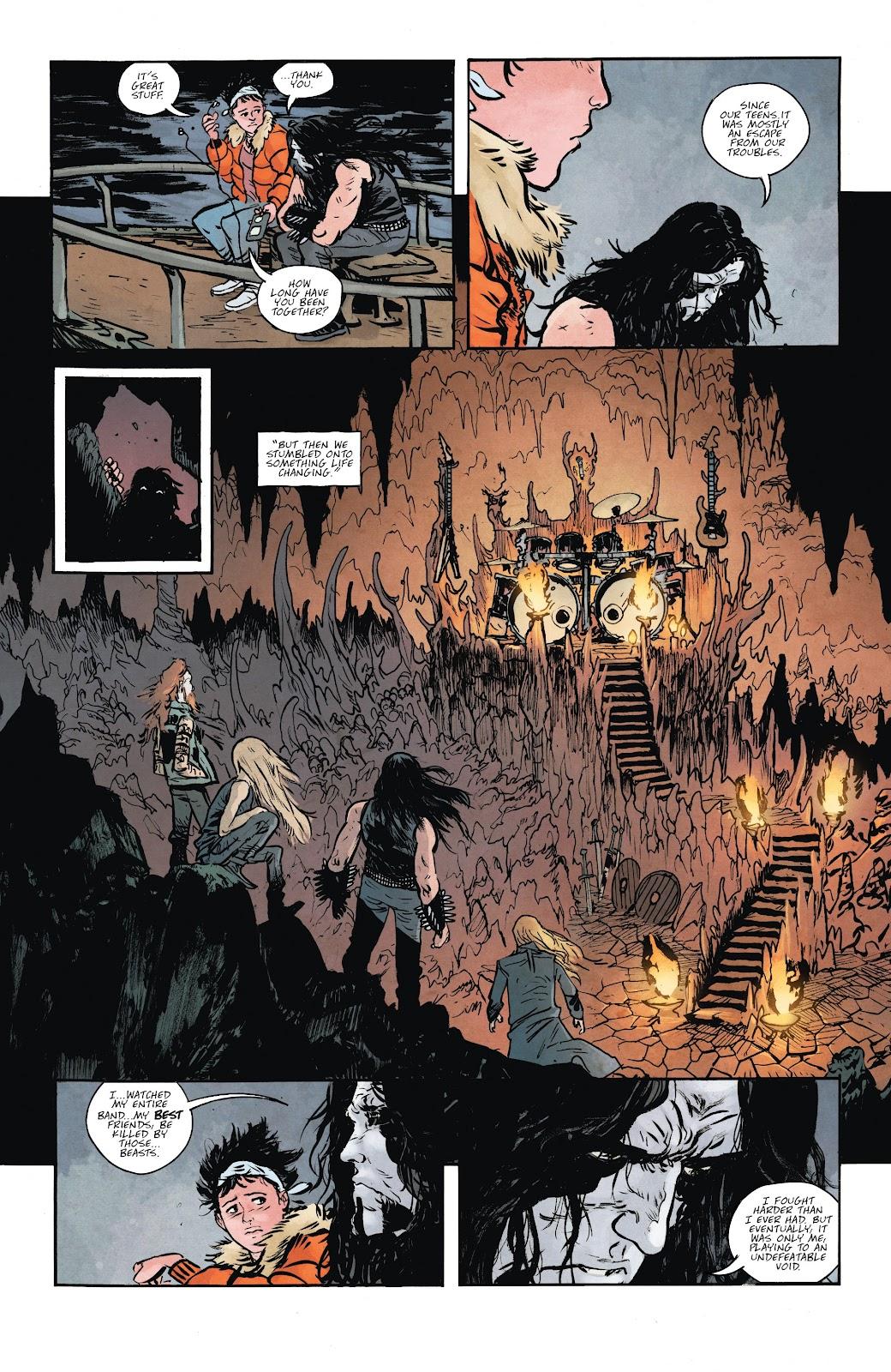 Read online Murder Falcon comic -  Issue #6 - 5