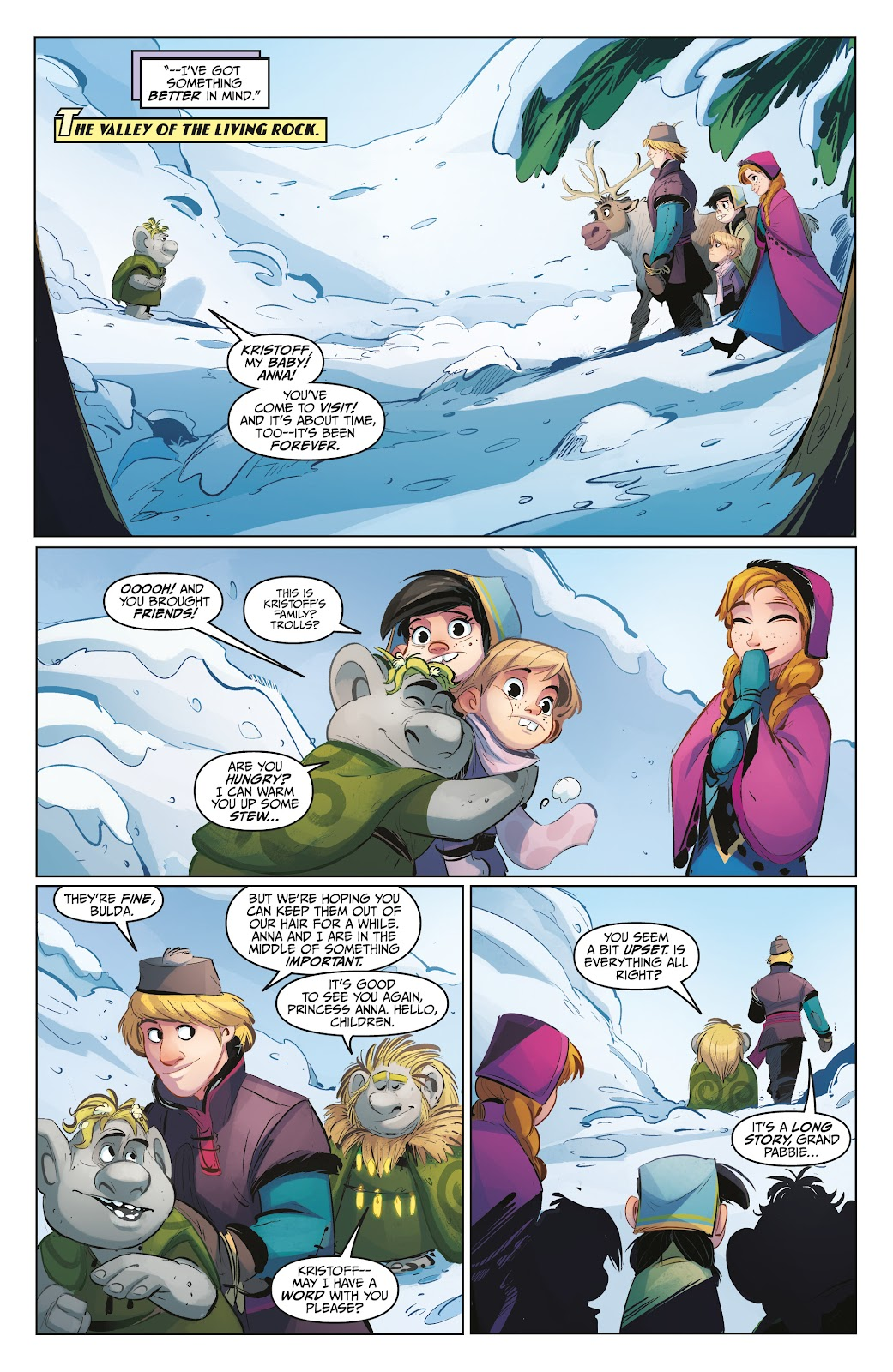 Read online Disney Frozen: The Hero Within comic -  Issue #2 - 15