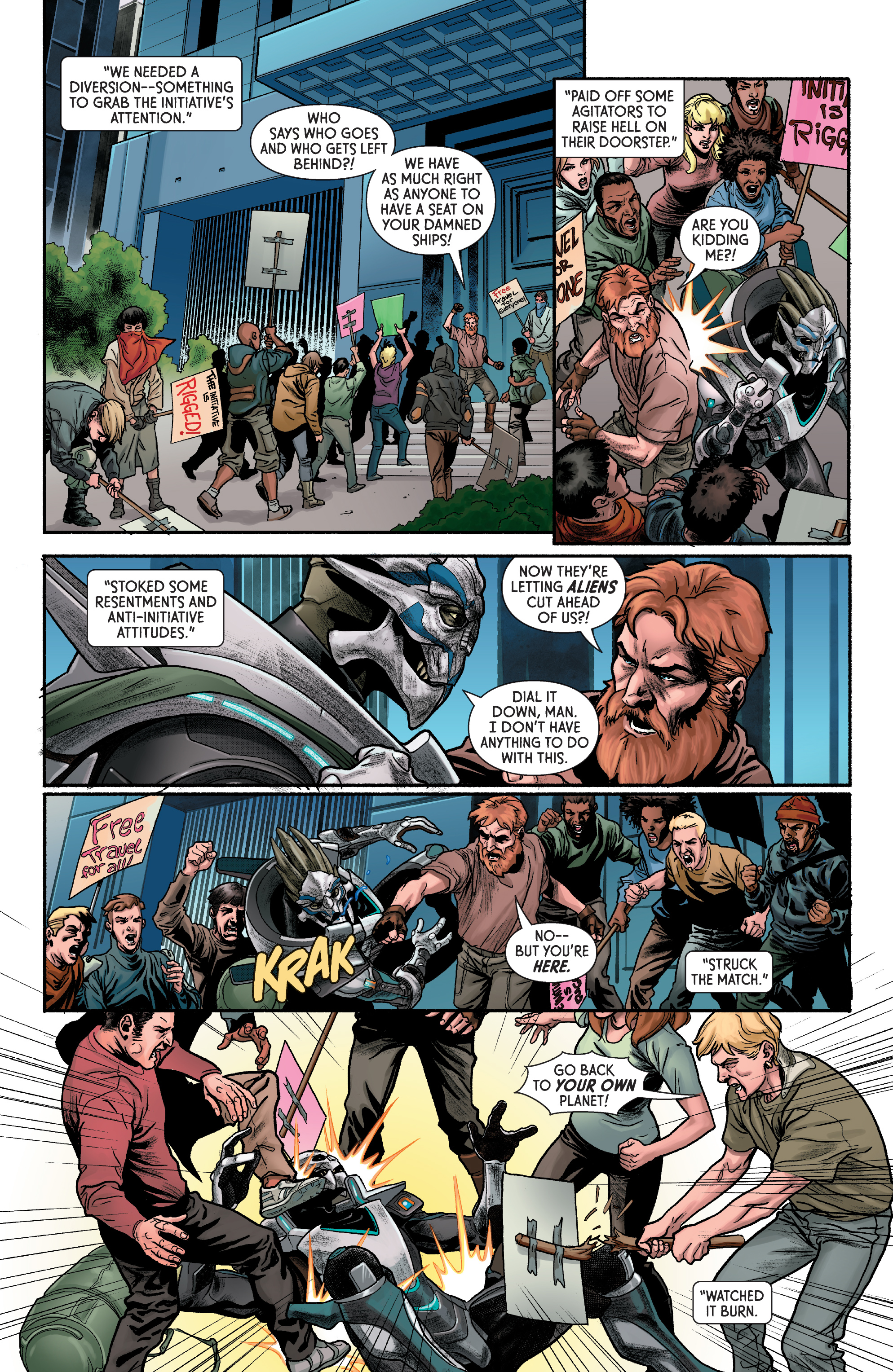 Read online Mass Effect: Discovery comic -  Issue #1 - 14