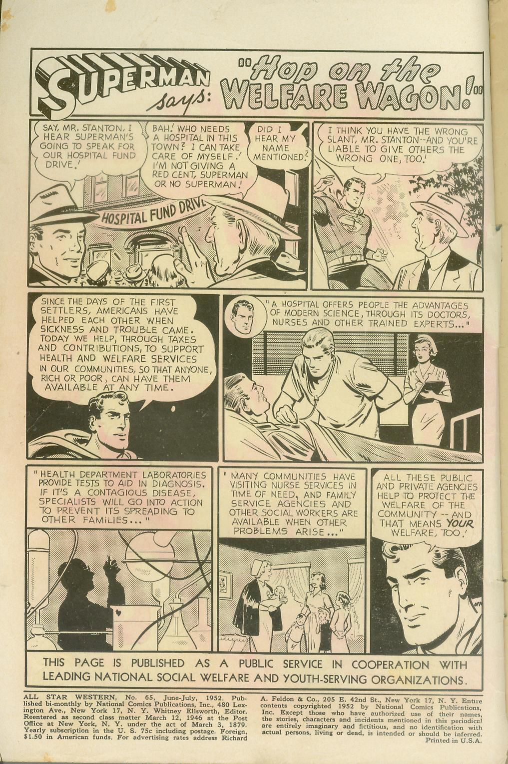 Read online All-Star Western (1951) comic -  Issue #65 - 2