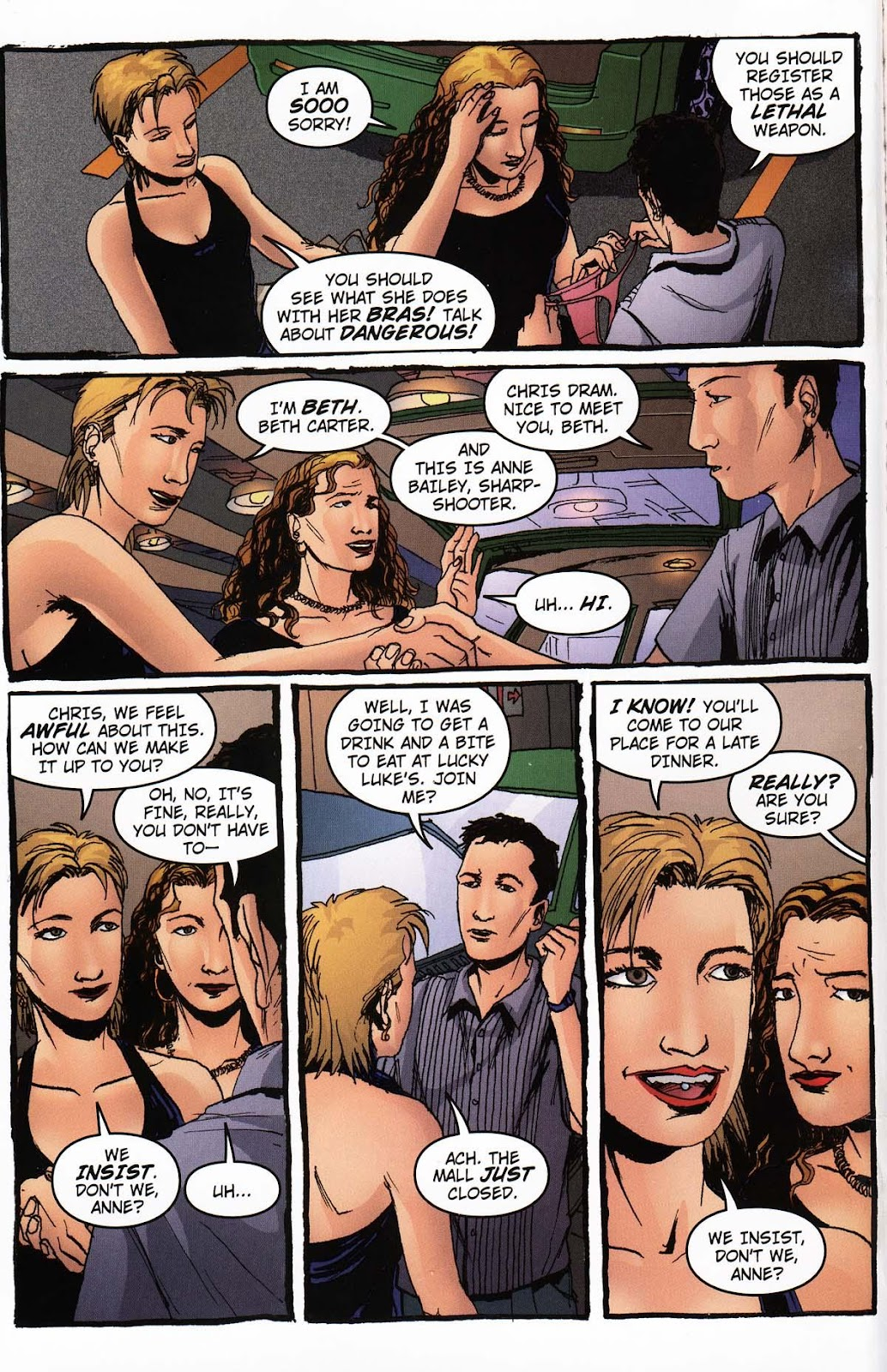 Read online Vampire the Masquerade comic -  Issue # Ventrue - 6