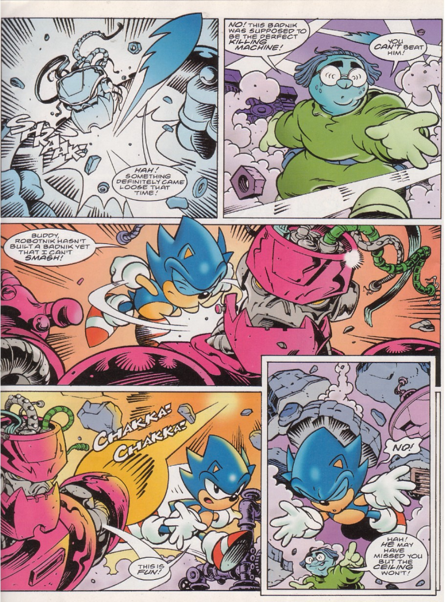 Read online Sonic the Comic comic -  Issue #140 - 7