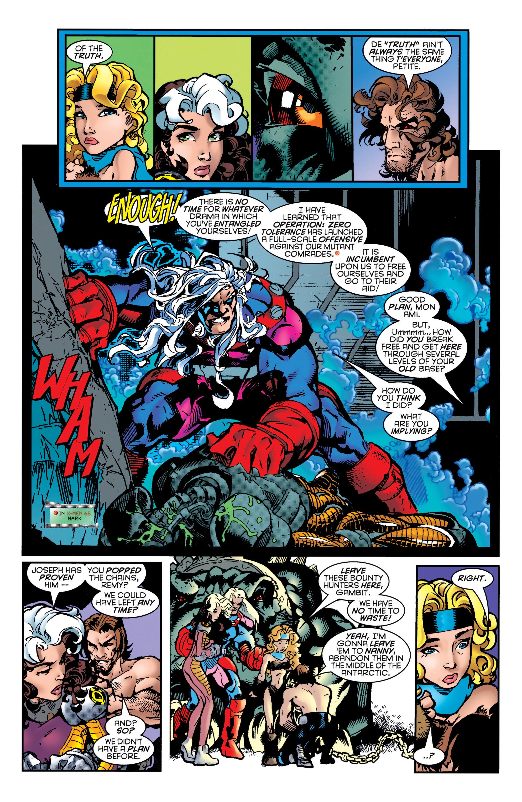 Read online Uncanny X-Men (1963) comic -  Issue #349 - 14