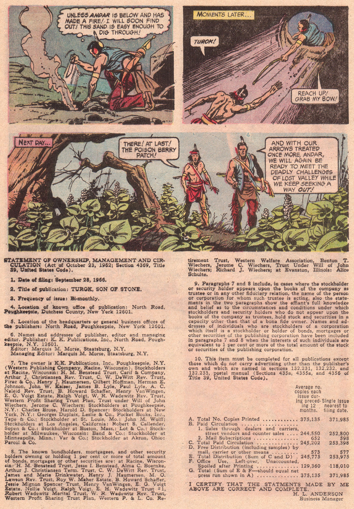 Read online Turok, Son of Stone comic -  Issue #56 - 32
