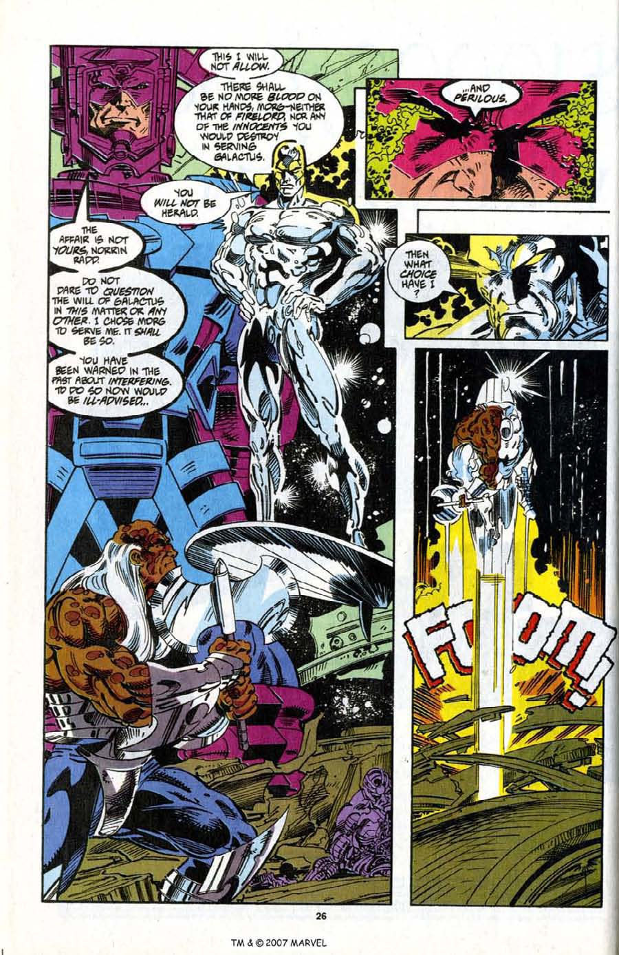 Read online Silver Surfer (1987) comic -  Issue # _Annual 7 - 28
