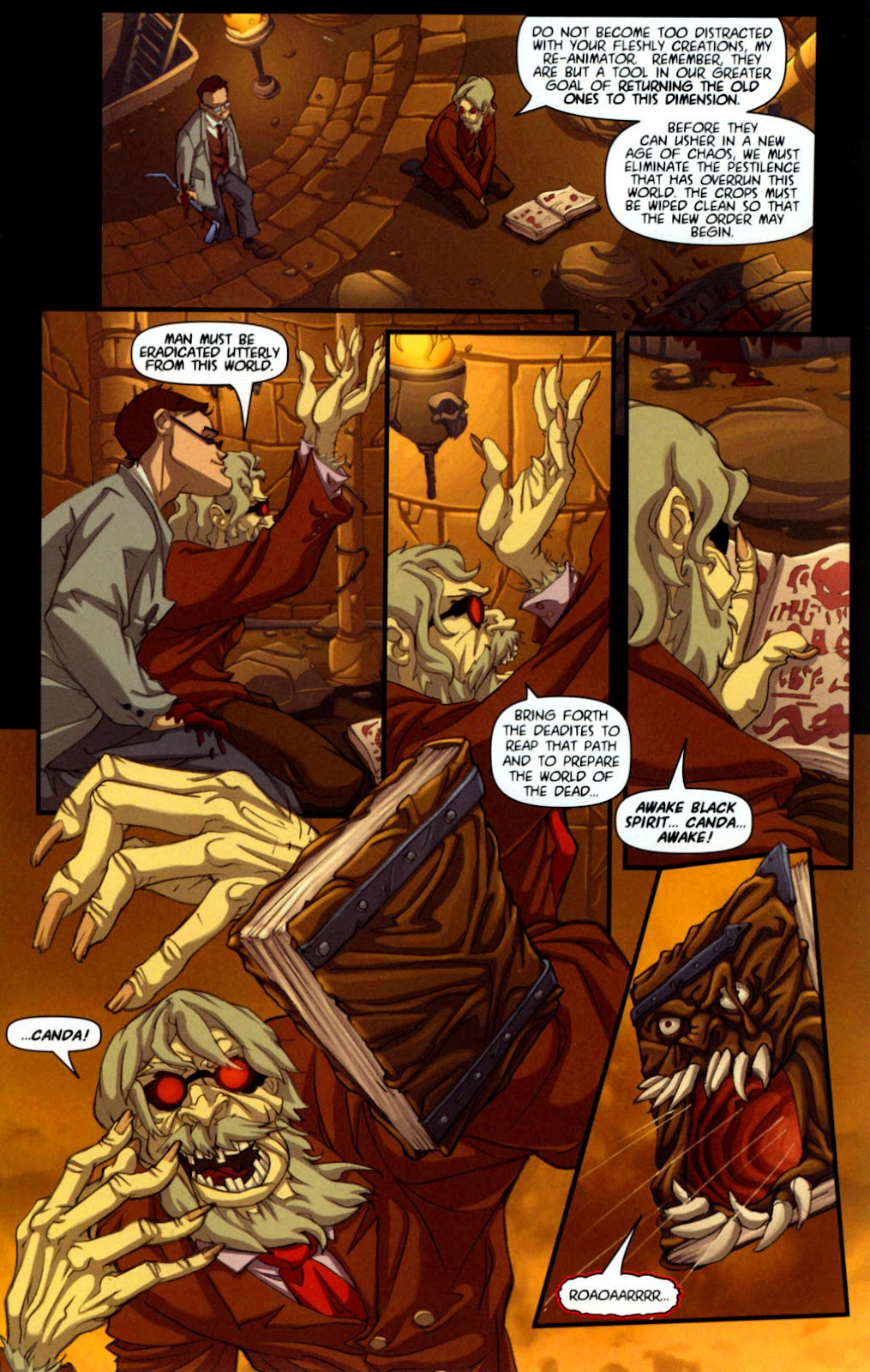 Army of Darkness vs. Re-Animator Issue #1 #1 - English 12