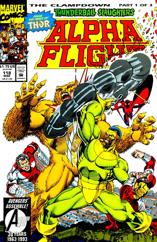 Read online Alpha Flight (1983) comic -  Issue #118 - 2