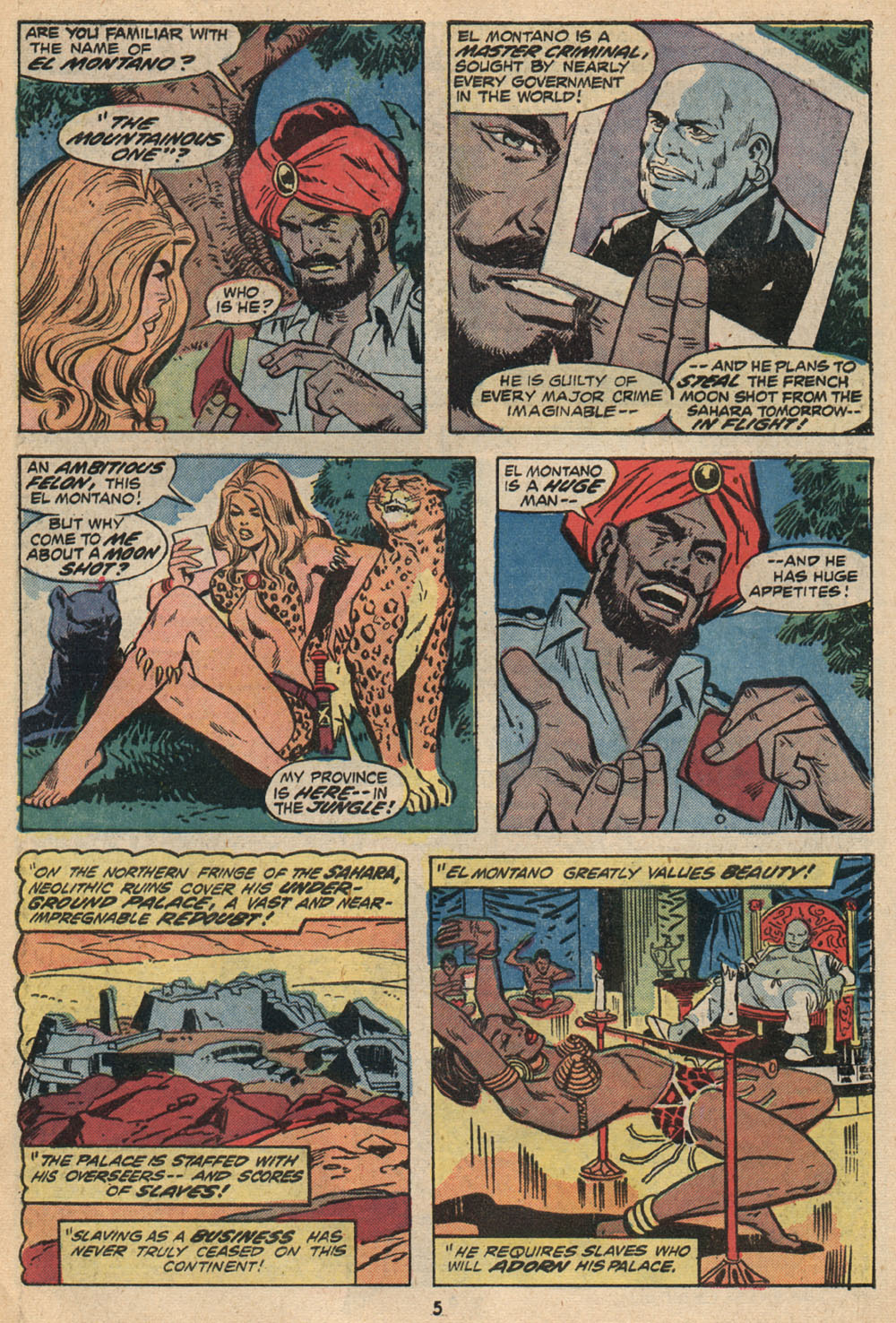 Read online Shanna, the She-Devil (1972) comic -  Issue #2 - 5