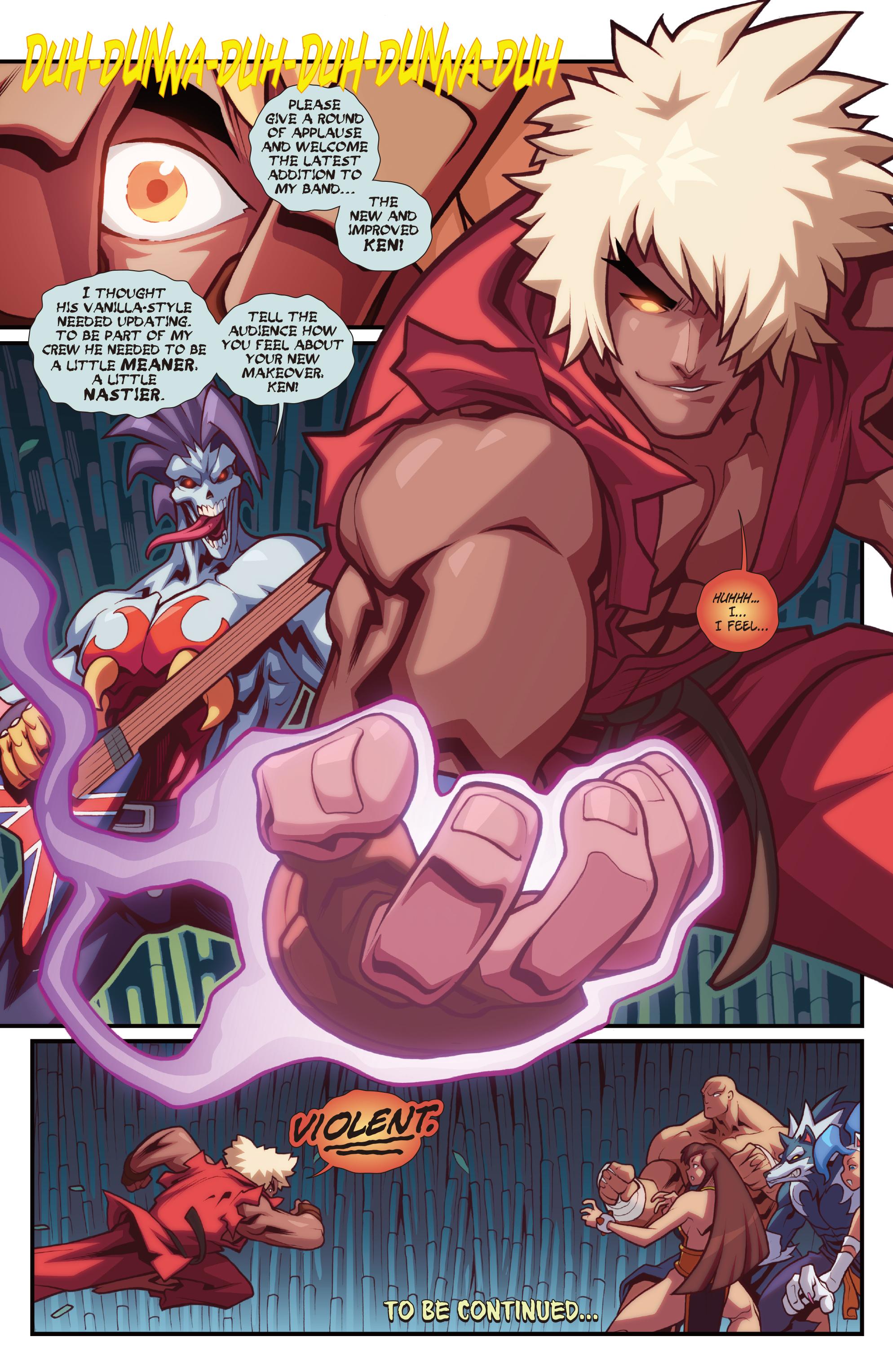 Read online Street Fighter VS Darkstalkers comic -  Issue #2 - 20