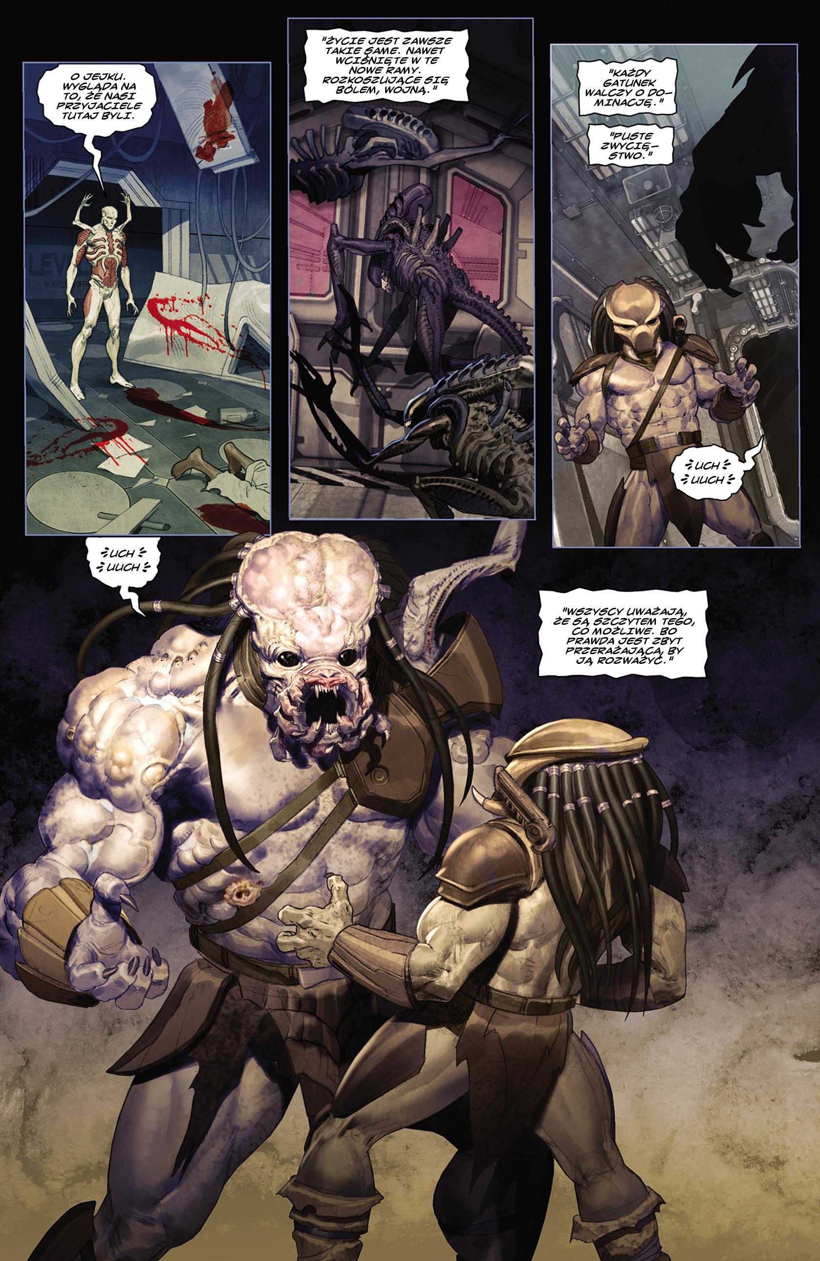 Read online Alien vs. Predator: Fire and Stone comic -  Issue #2 - 17