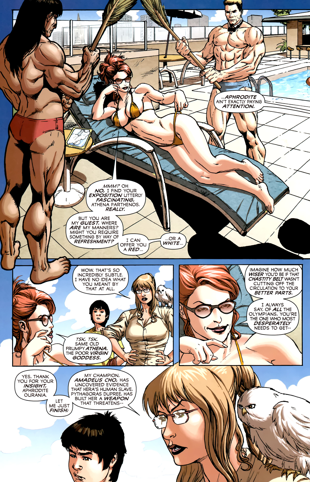 Read online Assault on New Olympus Prologue comic -  Issue #Assault on New Olympus Prologue Full - 5