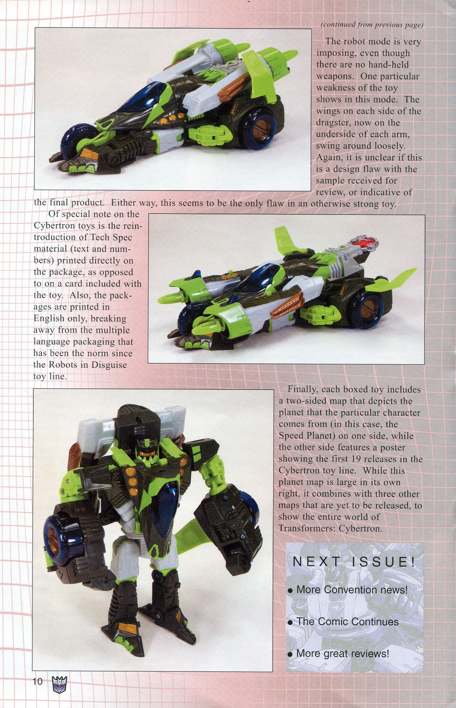 Read online Transformers: Collectors' Club comic -  Issue #3 - 10