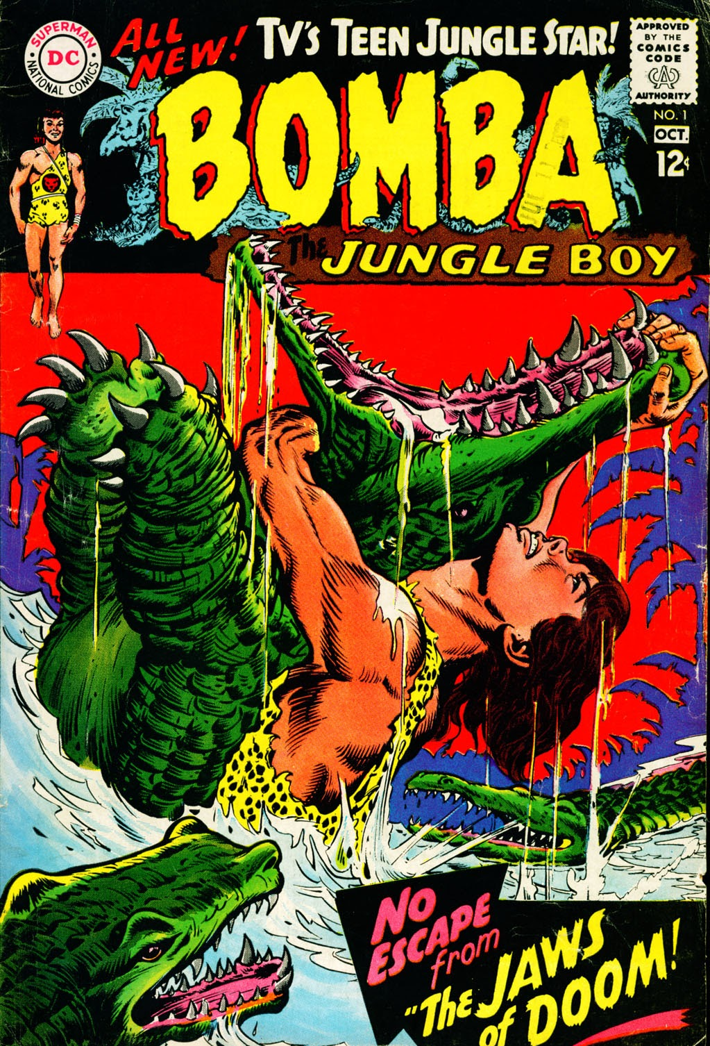 Bomba, The Jungle Boy issue 1 - Page 1