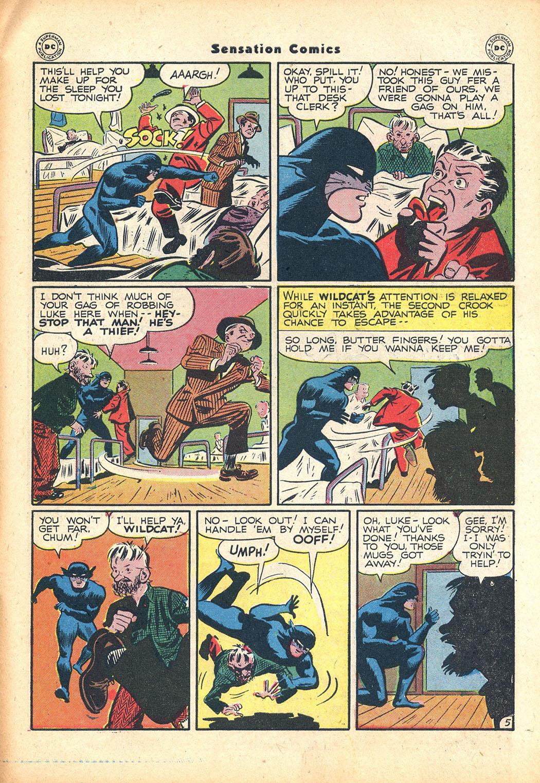 Read online Sensation (Mystery) Comics comic -  Issue #63 - 45