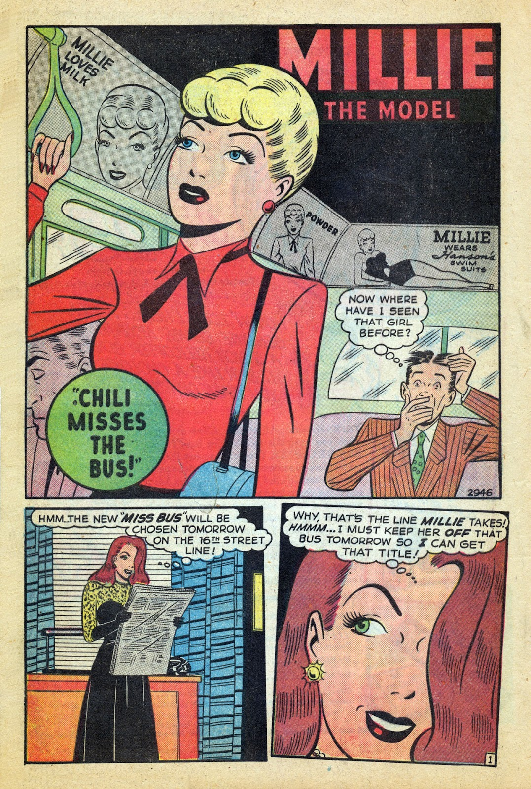 Read online Millie the Model comic -  Issue #14 - 12