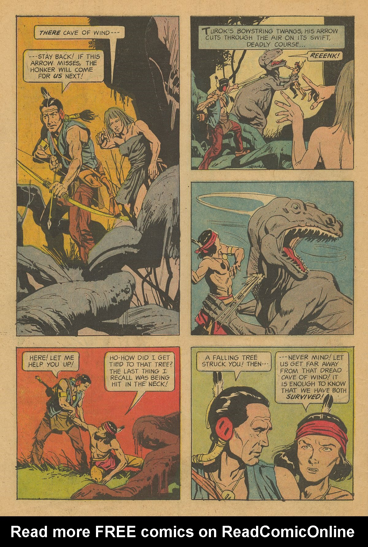 Read online Turok, Son of Stone comic -  Issue #37 - 34