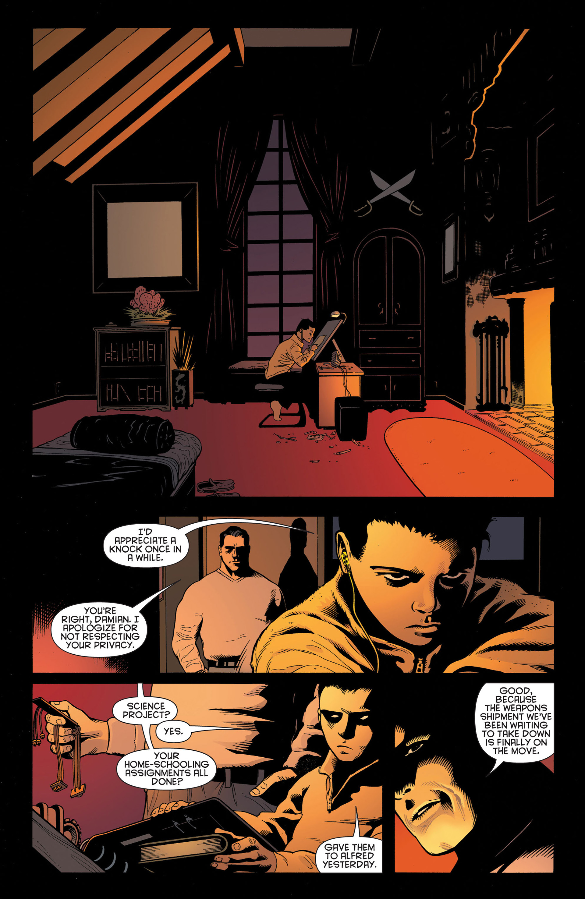 Read online Batman and Robin (2011) comic -  Issue #2 - 5