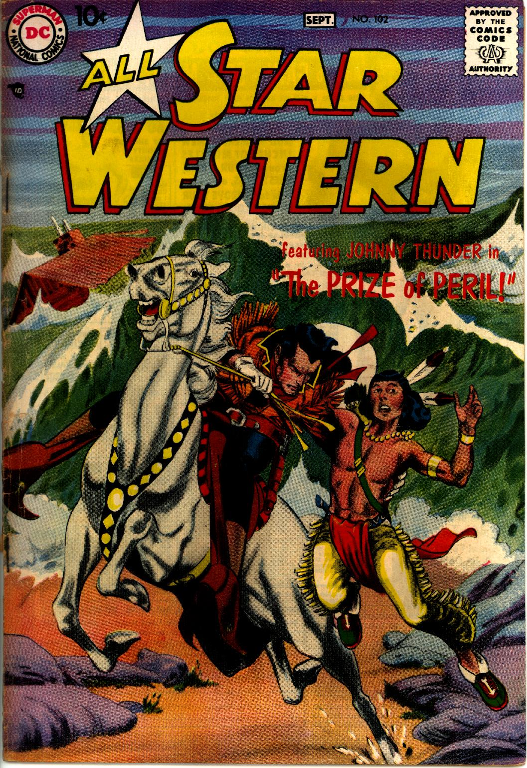 Read online All-Star Western (1951) comic -  Issue #102 - 1