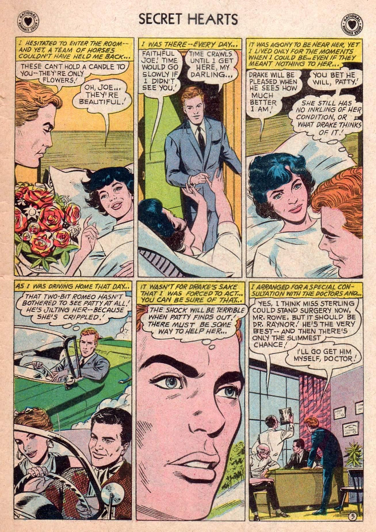 Read online Secret Hearts comic -  Issue #73 - 15