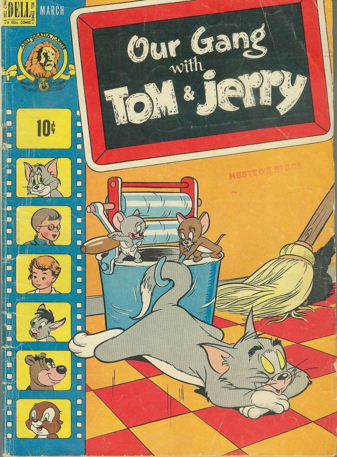 Our Gang with Tom & Jerry issue 56 - Page 1